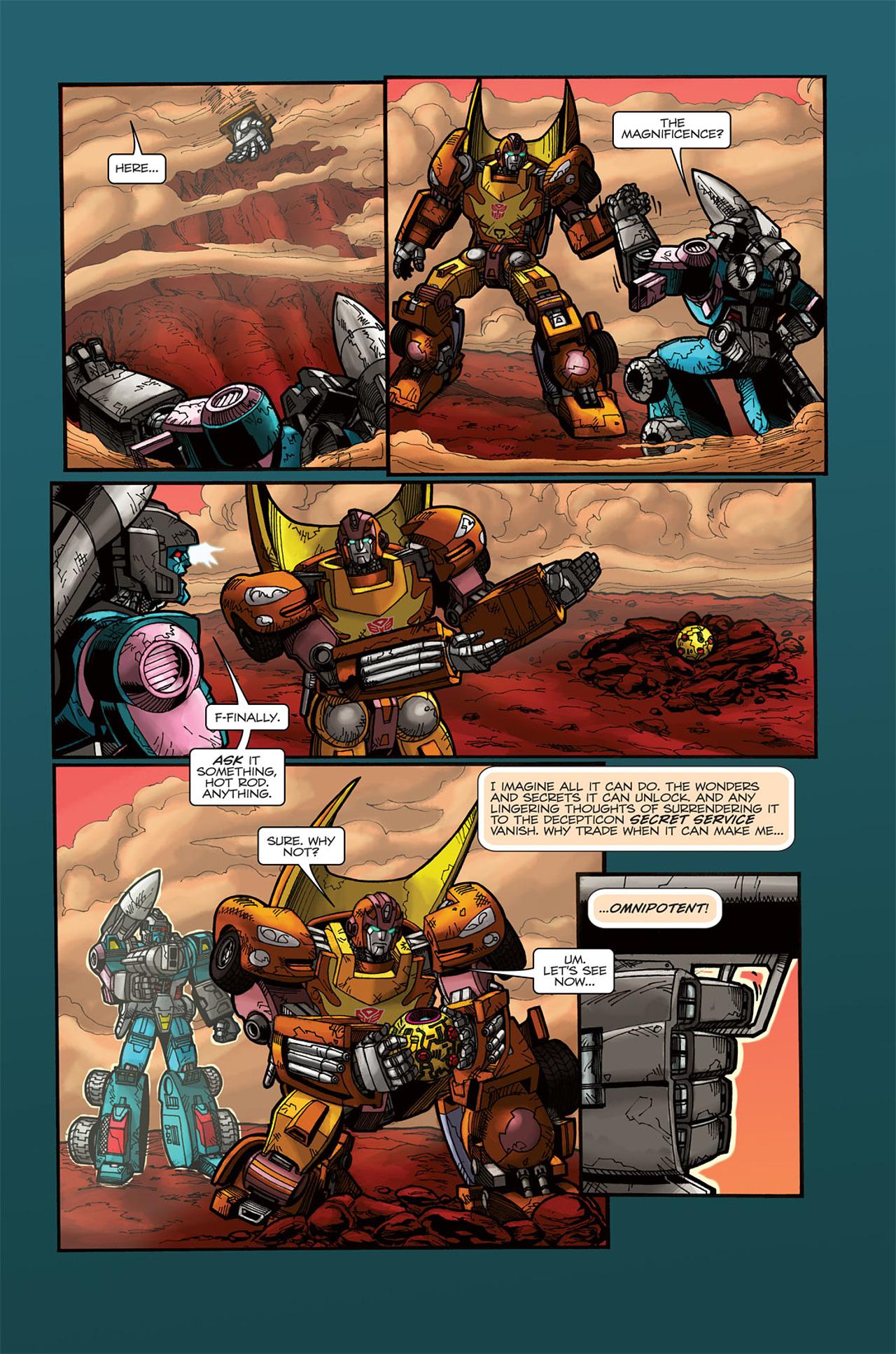 Read online Transformers Spotlight: Doubledealer comic -  Issue # Full - 22