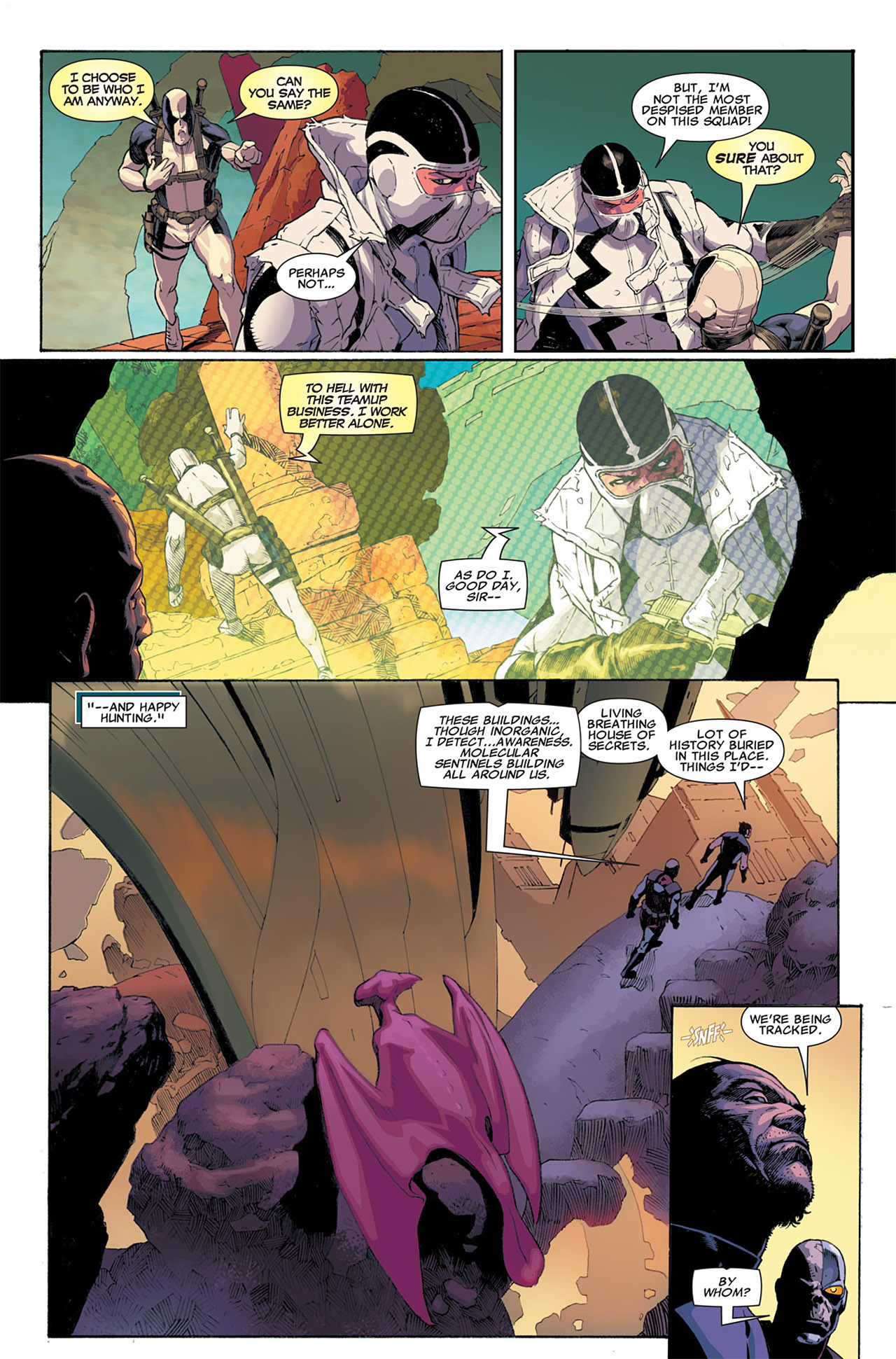 Read online Uncanny X-Force (2010) comic -  Issue #7 - 6