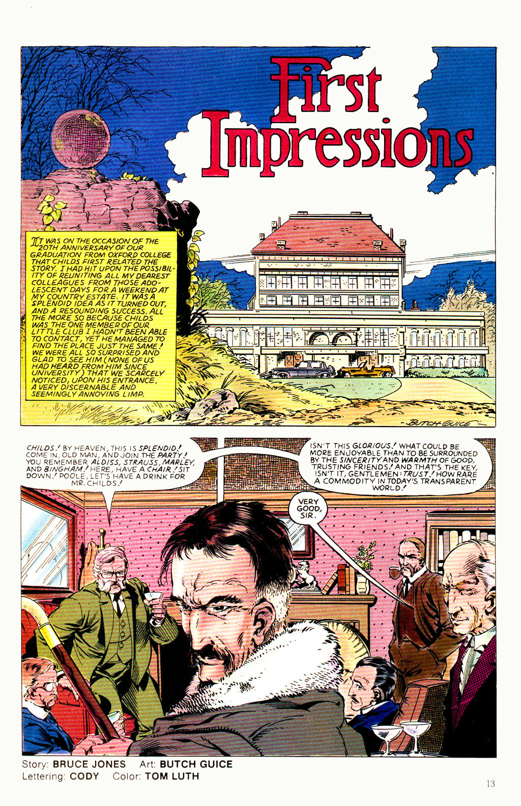 Read online Twisted Tales (1982) comic -  Issue #8 - 15