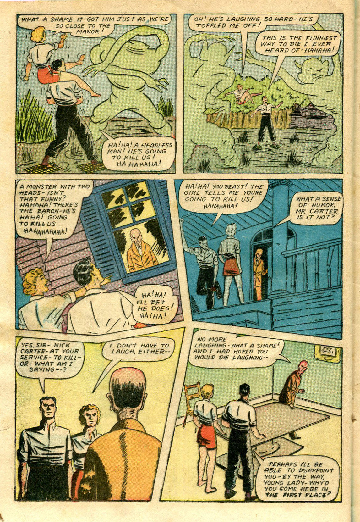 Read online Shadow Comics comic -  Issue #65 - 32