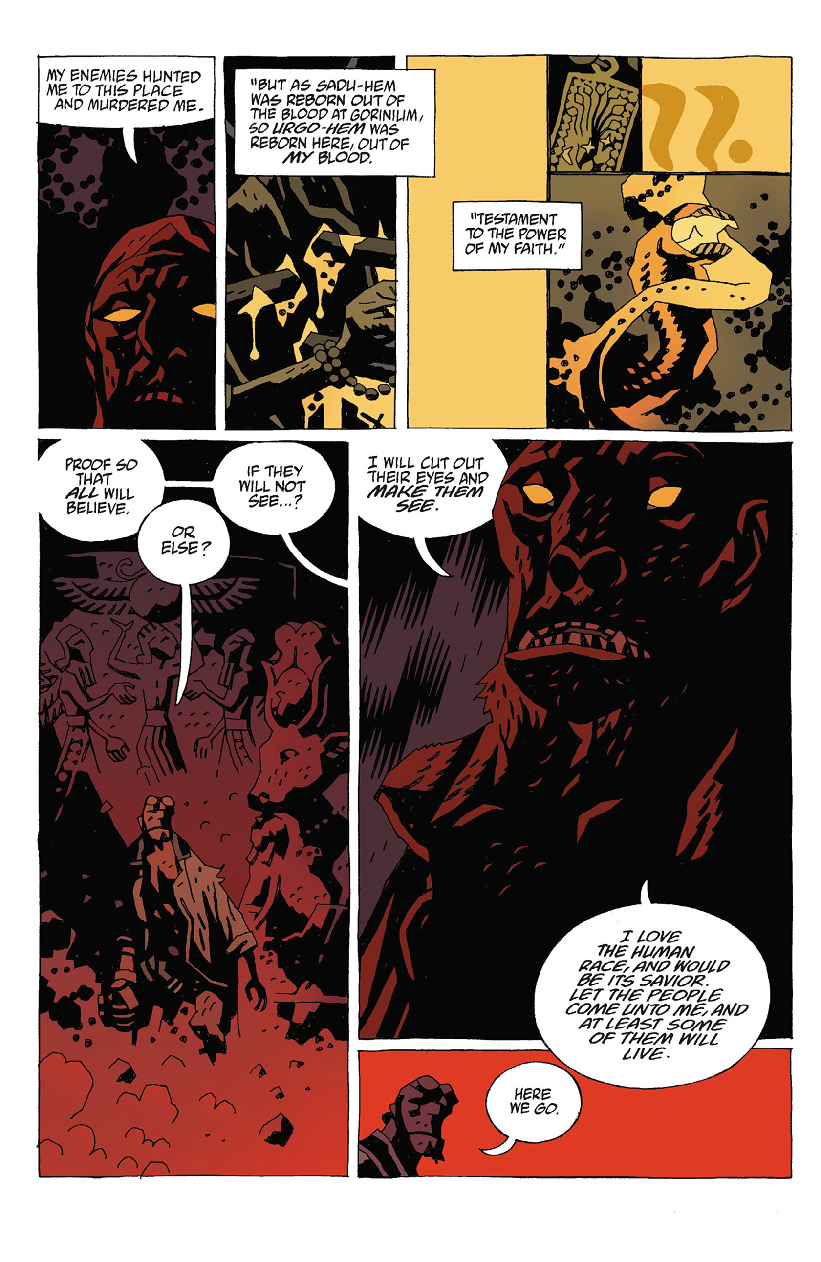 Read online Hellboy: Strange Places comic -  Issue # TPB - 114