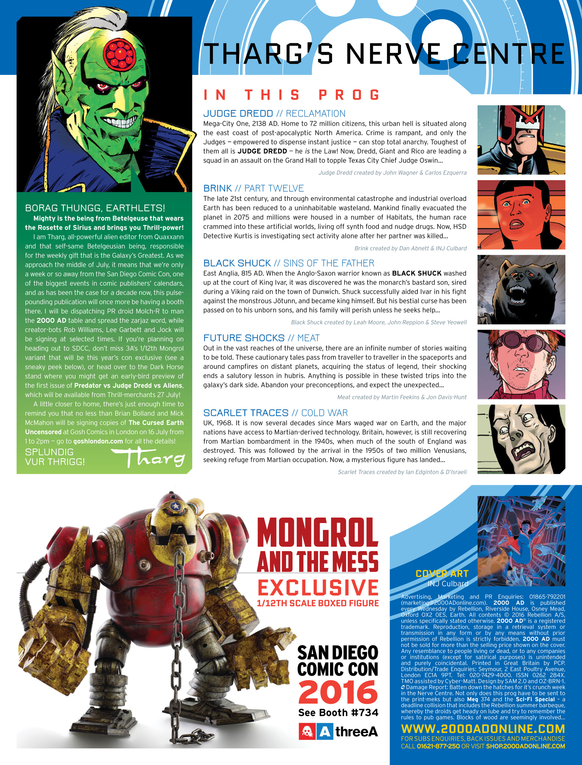 Read online 2000 AD comic -  Issue #1989 - 2