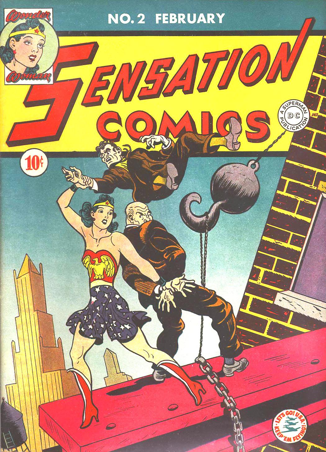Read online Sensation (Mystery) Comics comic -  Issue #2 - 1
