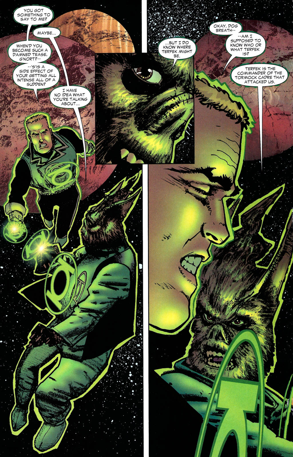 Read online Guy Gardner: Collateral Damage comic -  Issue #2 - 18