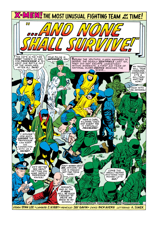 Uncanny X-Men (1963) 17 Page 1