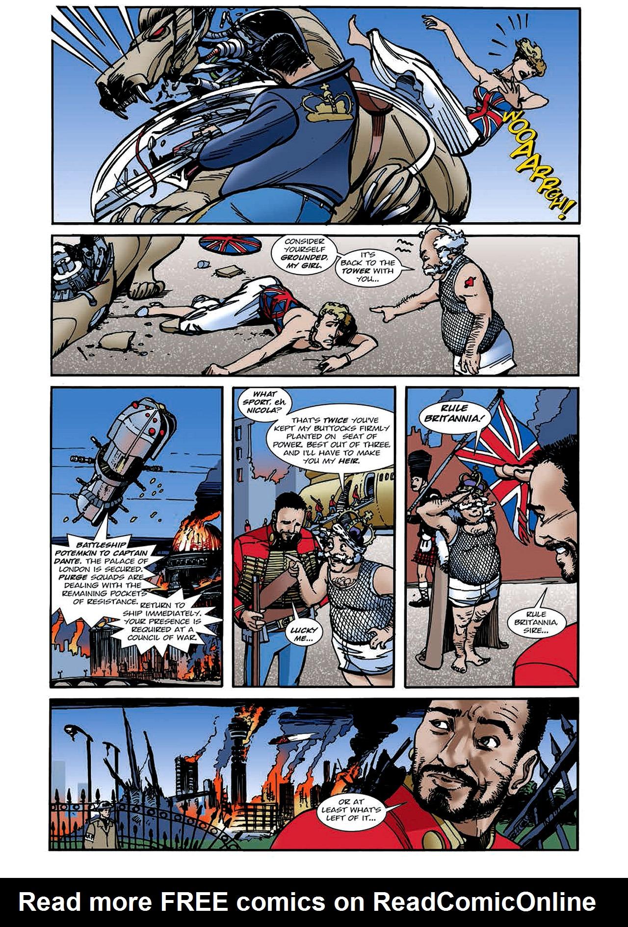 Read online Nikolai Dante comic -  Issue # TPB 4 - 107