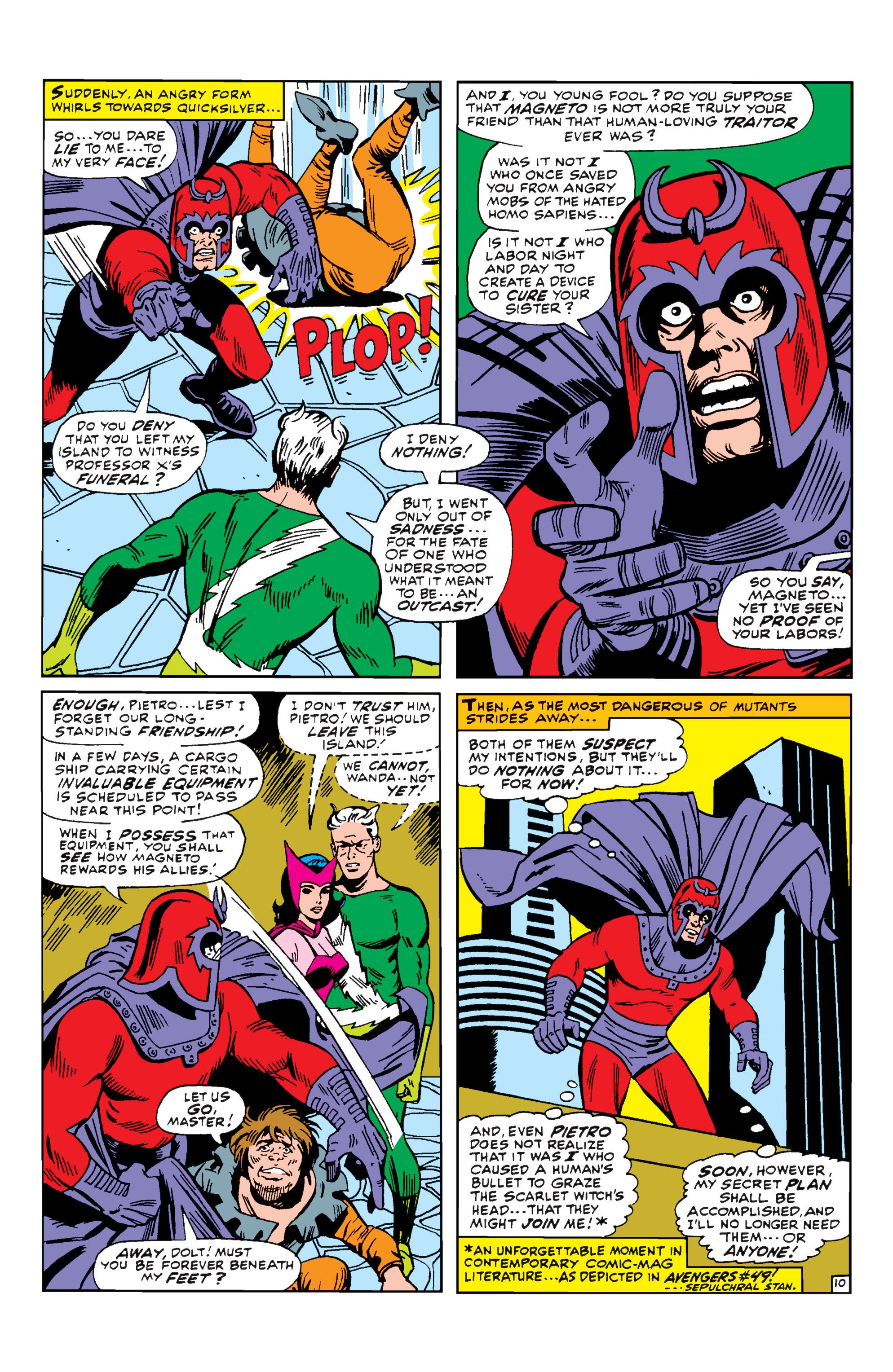 Uncanny X-Men (1963) 43 Page 10