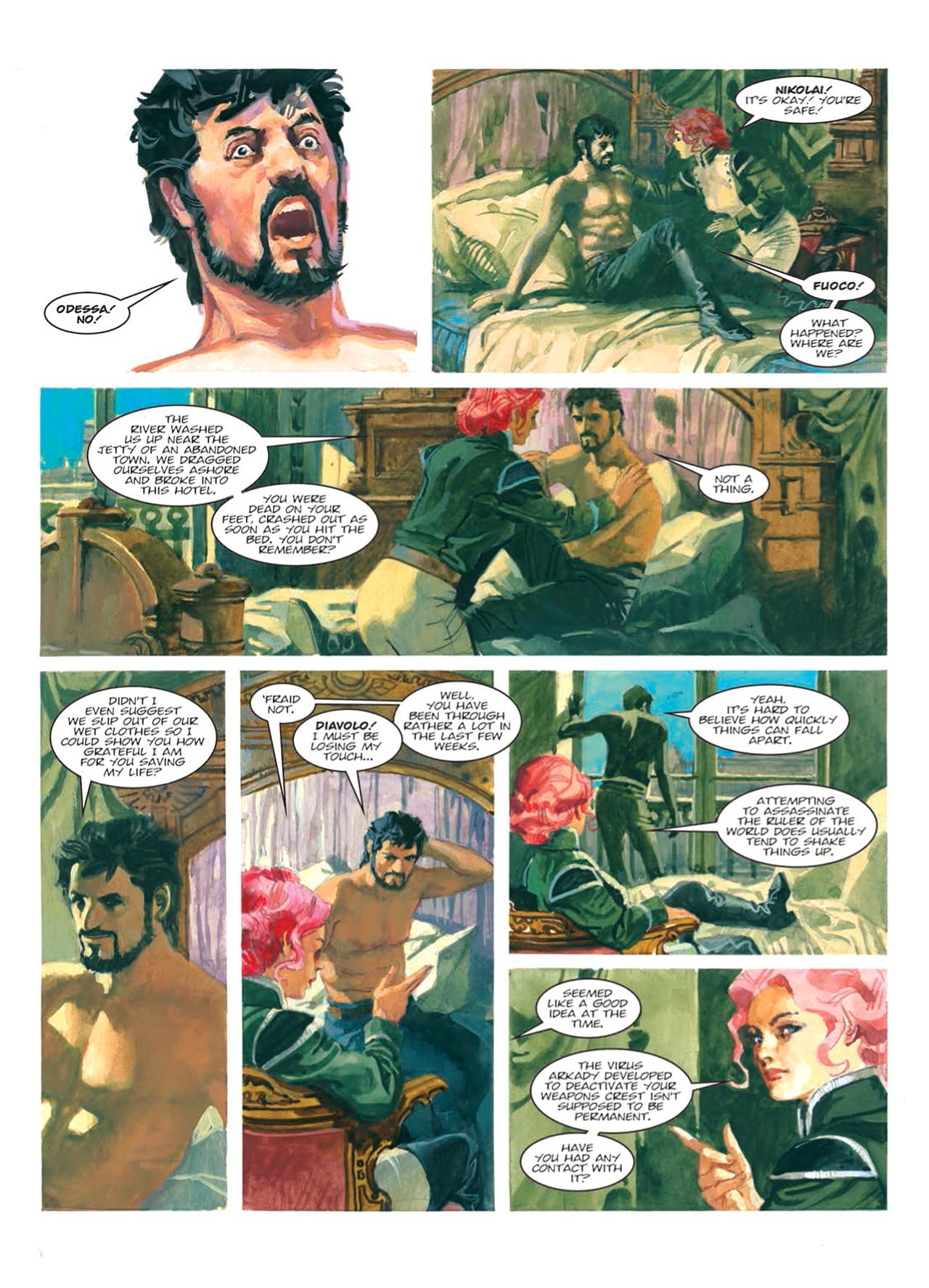 Read online Nikolai Dante comic -  Issue # TPB 9 - 110