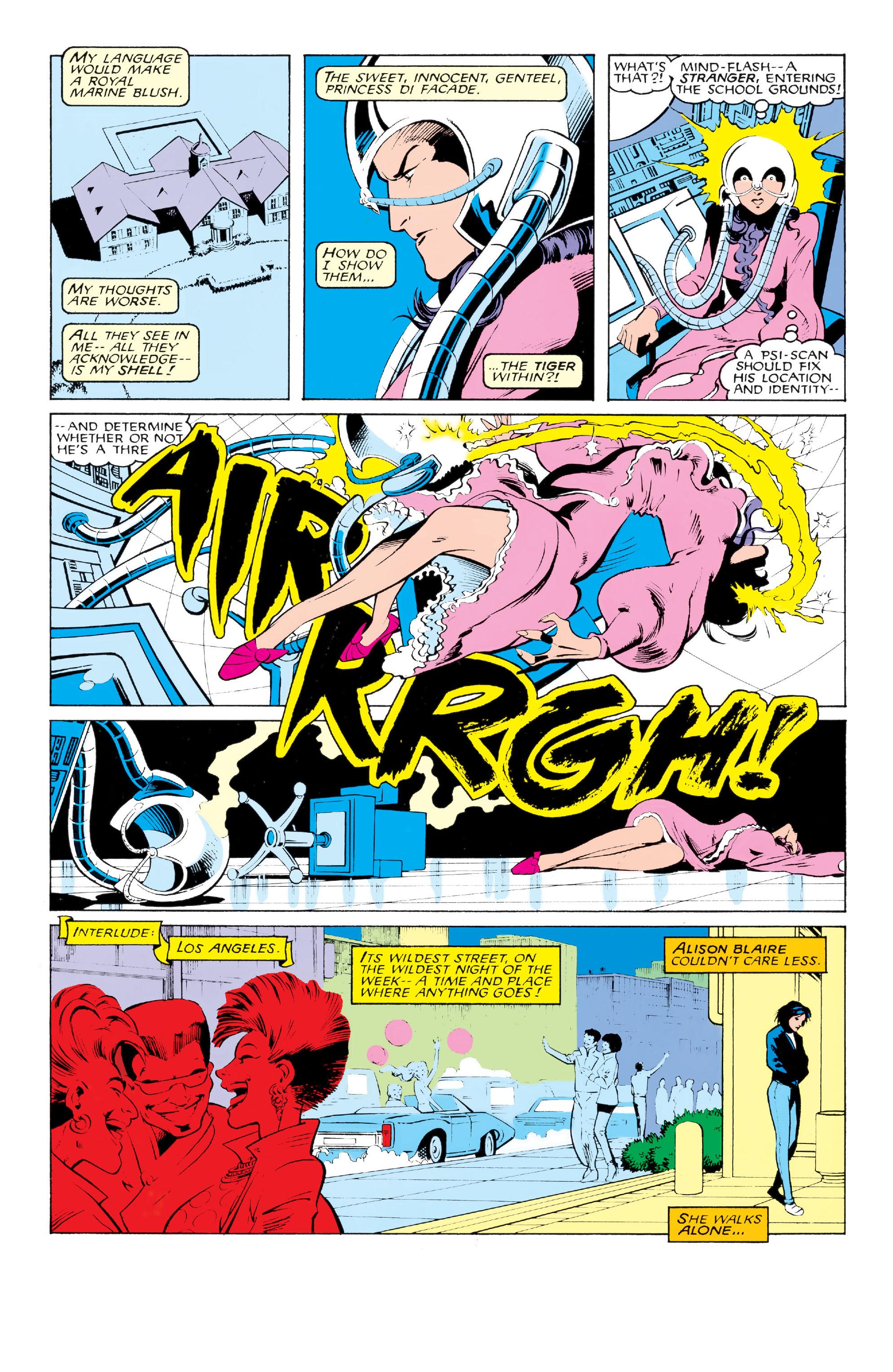 Read online Uncanny X-Men (1963) comic -  Issue #213 - 9
