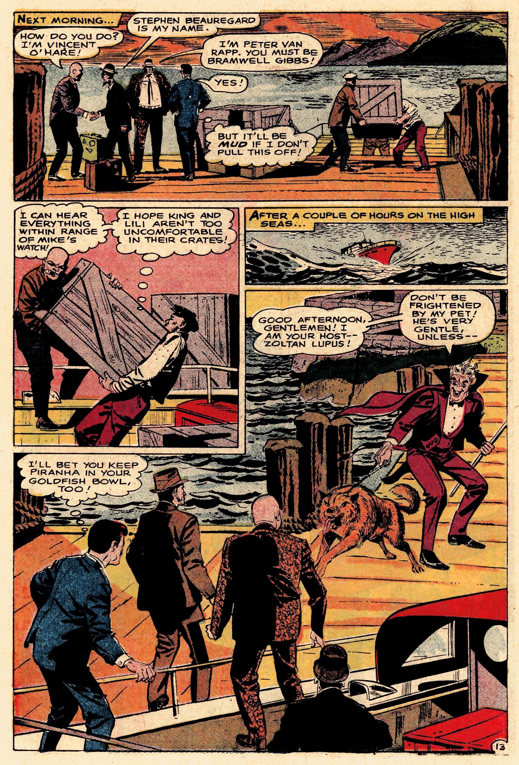 Read online Secret Six (1968) comic -  Issue #1 - 18