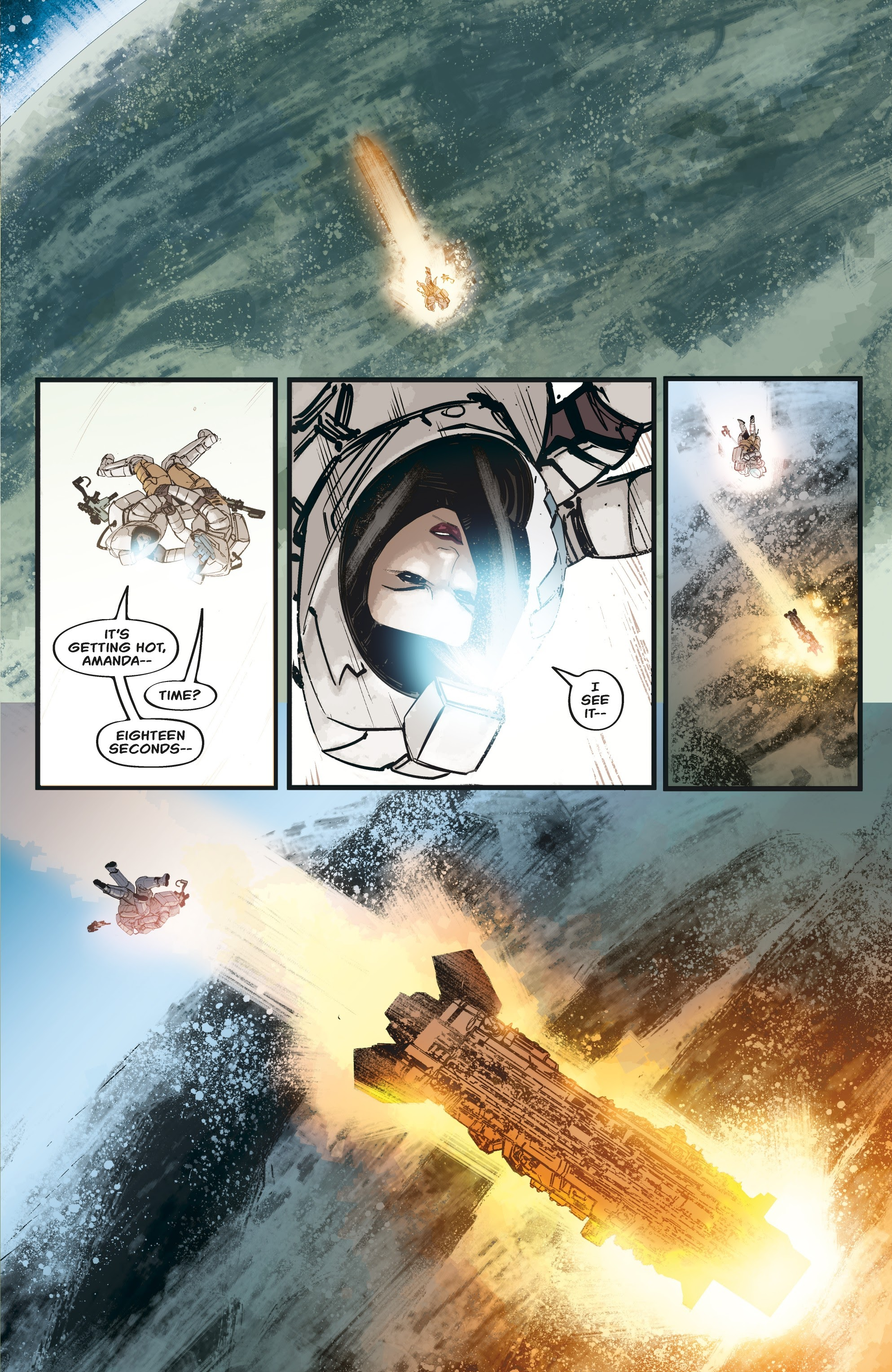 Aliens: Resistance issue 3 - Page 5