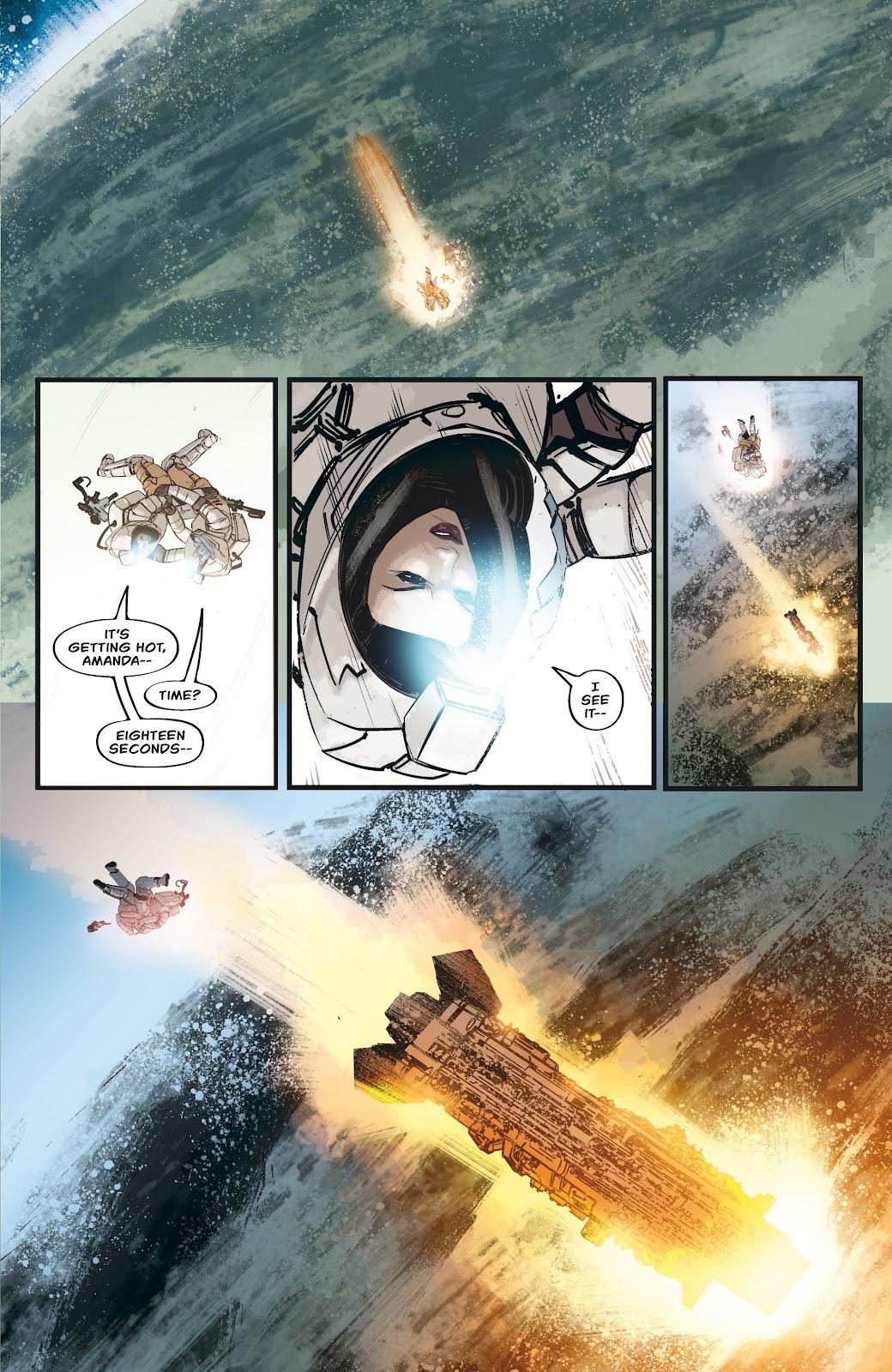 Read online Aliens: Resistance comic -  Issue #3 - 5