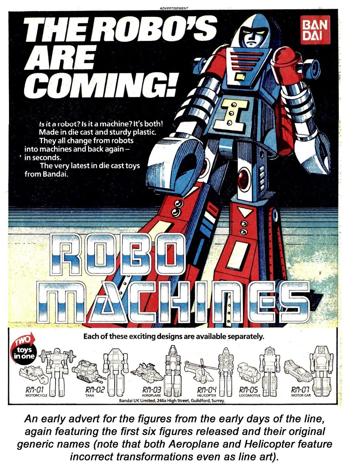 Read online Robo Machines comic -  Issue # TPB - 121