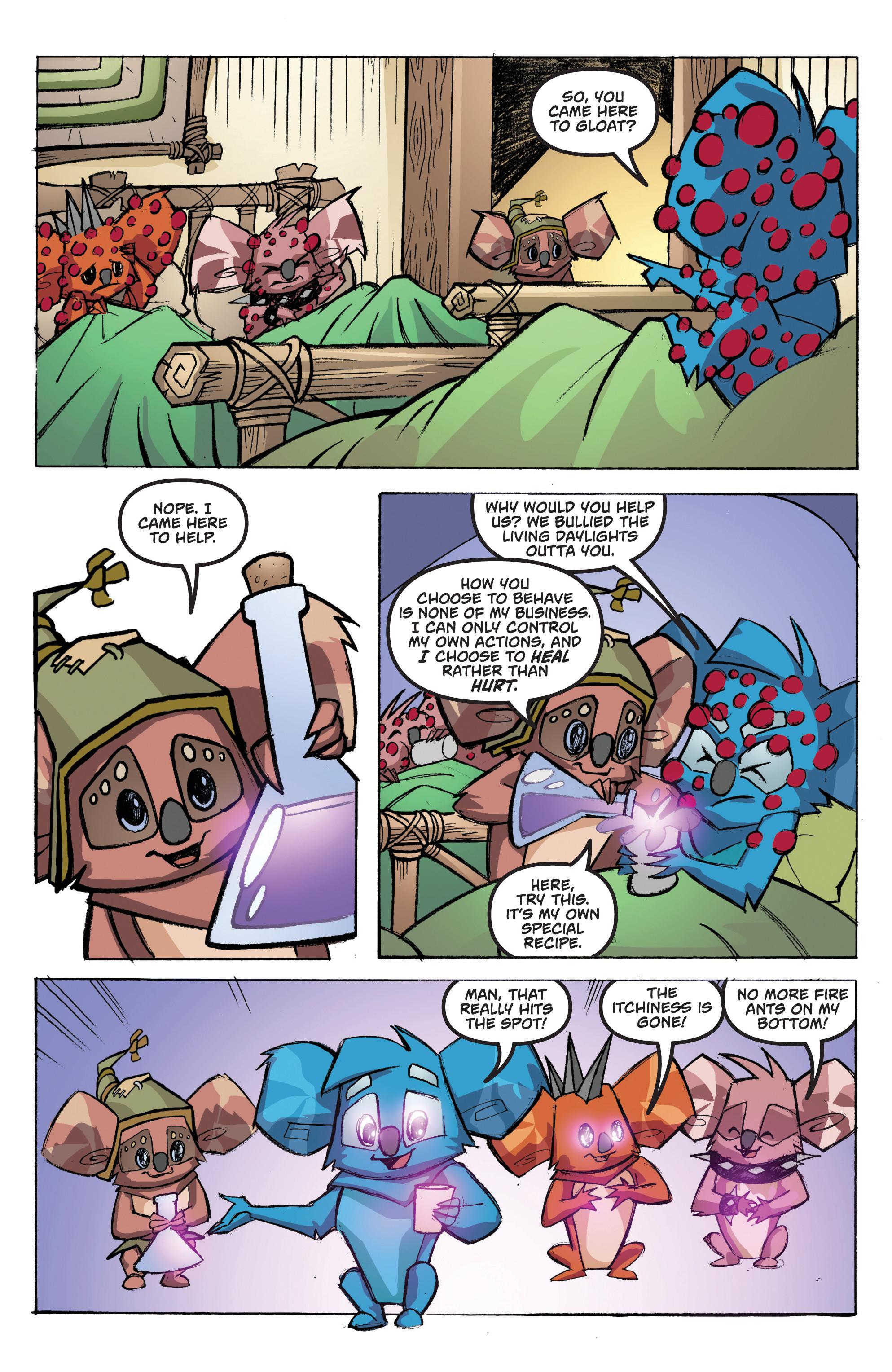 Read online Animal Jam comic -  Issue #1 - 20