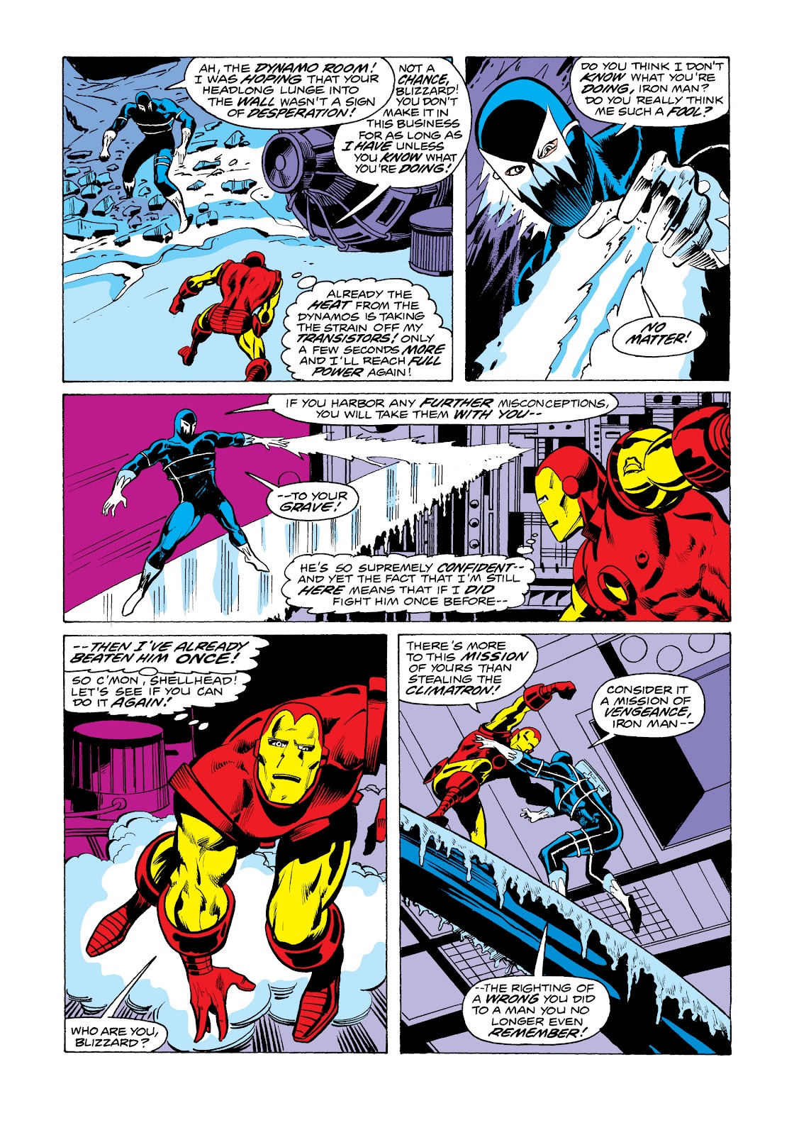 Read online Marvel Masterworks: The Invincible Iron Man comic -  Issue # TPB 11 (Part 1) - 99