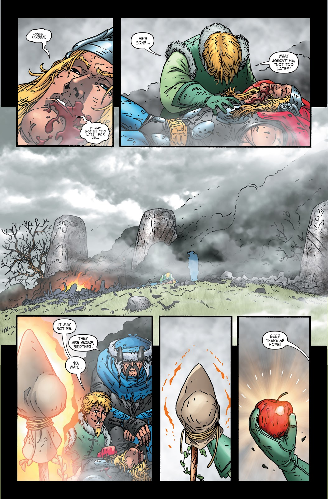 Read online Thor: Ragnaroks comic -  Issue # TPB (Part 2) - 1