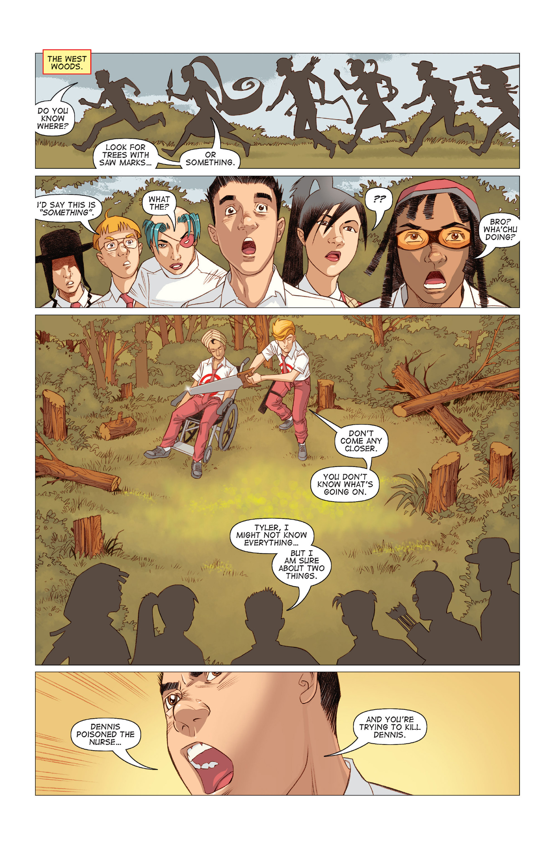 Read online Five Weapons comic -  Issue #9 - 11
