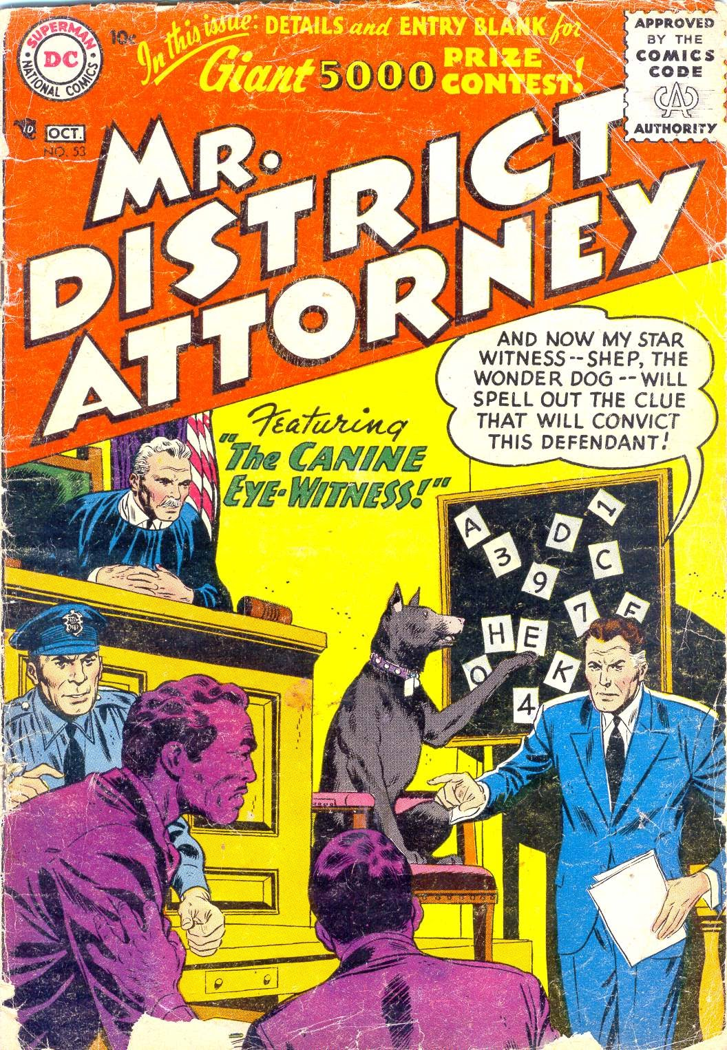 Mr. District Attorney issue 53 - Page 1