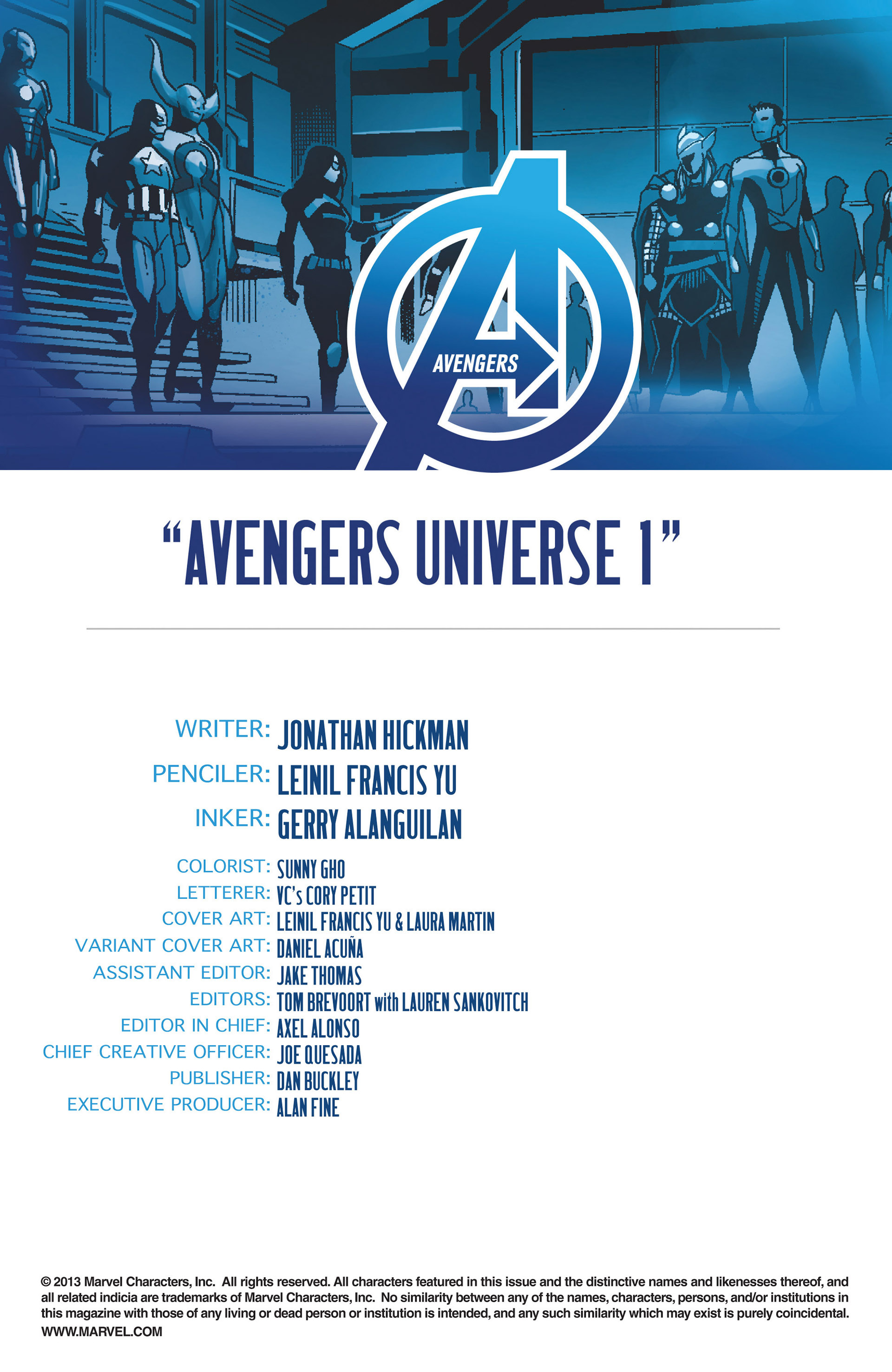 Read online Avengers (2013) comic -  Issue #18 - 4