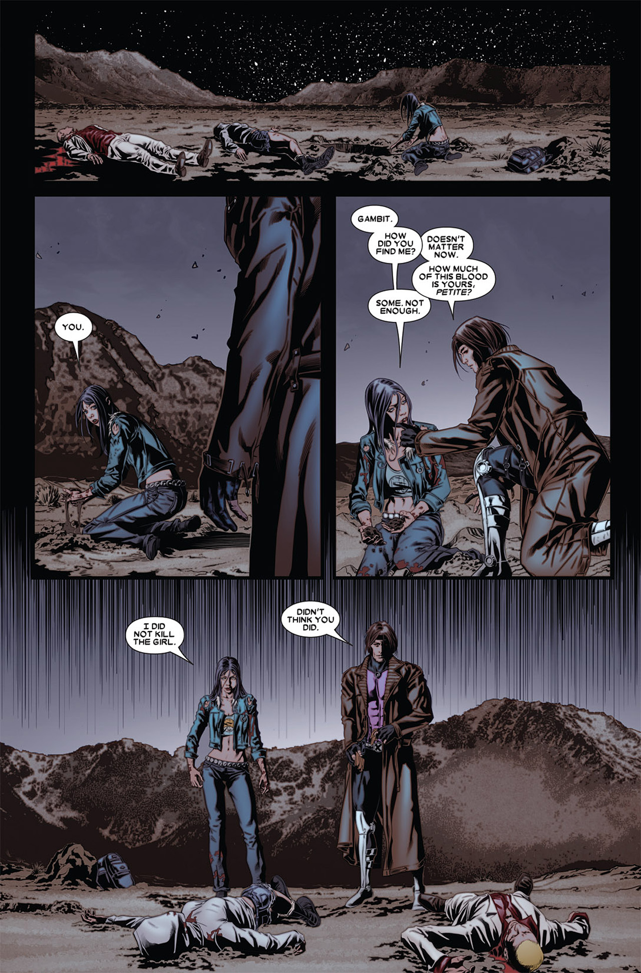 Read online X-23 (2010) comic -  Issue #4 - 13