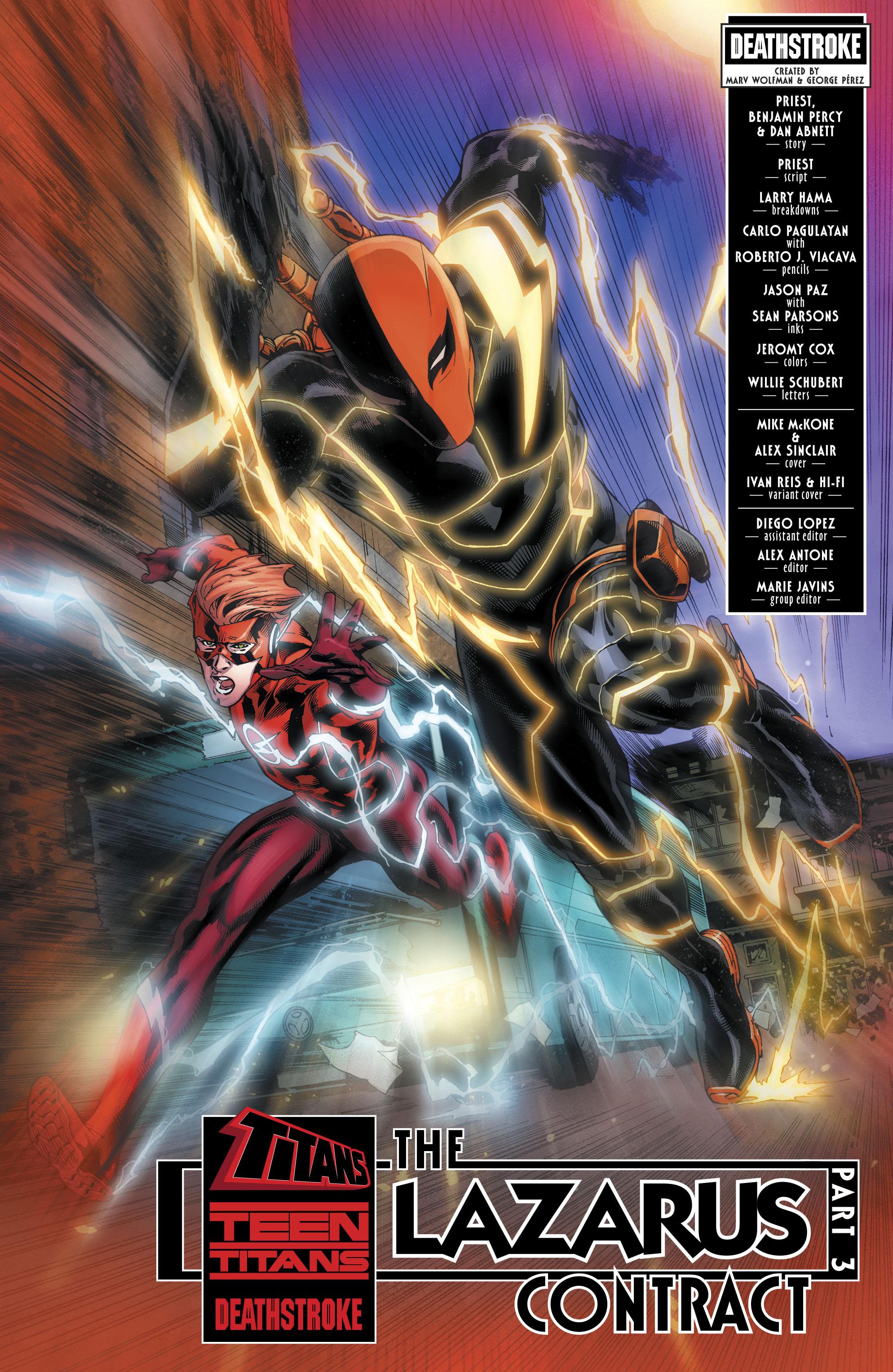 Read online Deathstroke (2016) comic -  Issue #19 - 4