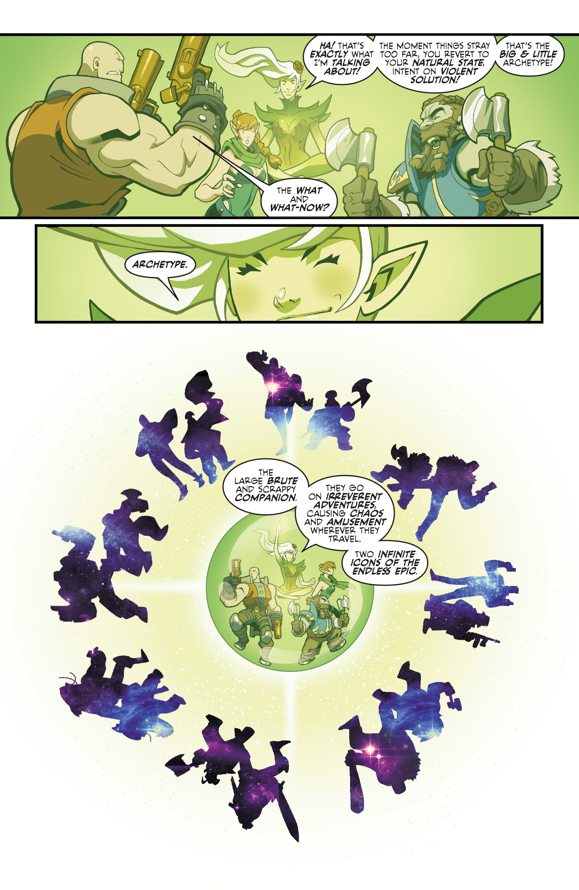 Read online Skullkickers comic -  Issue #100 - 10