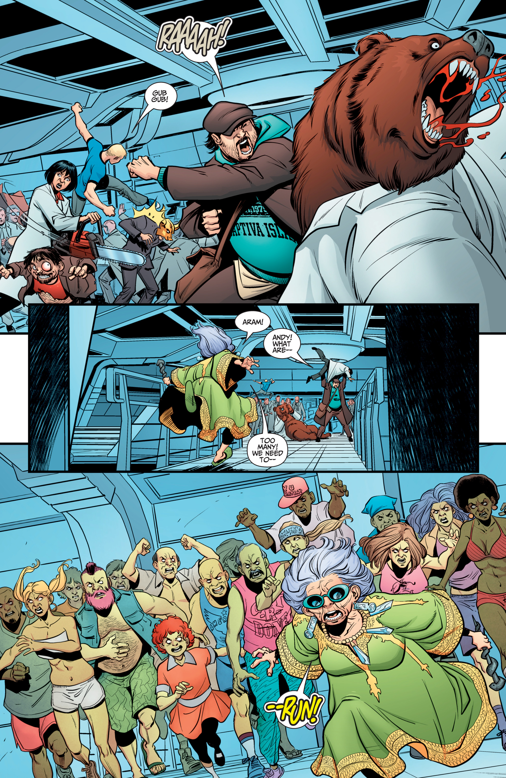 Read online A&A: The Adventures of Archer & Armstrong comic -  Issue #12 - 14