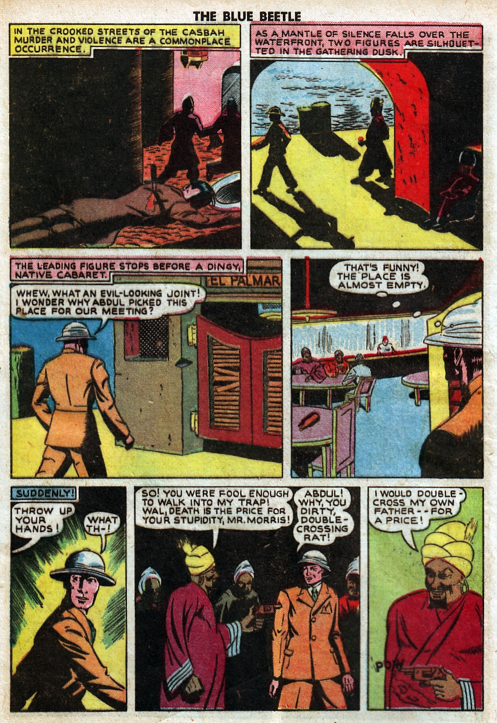 The Blue Beetle issue 33 - Page 4