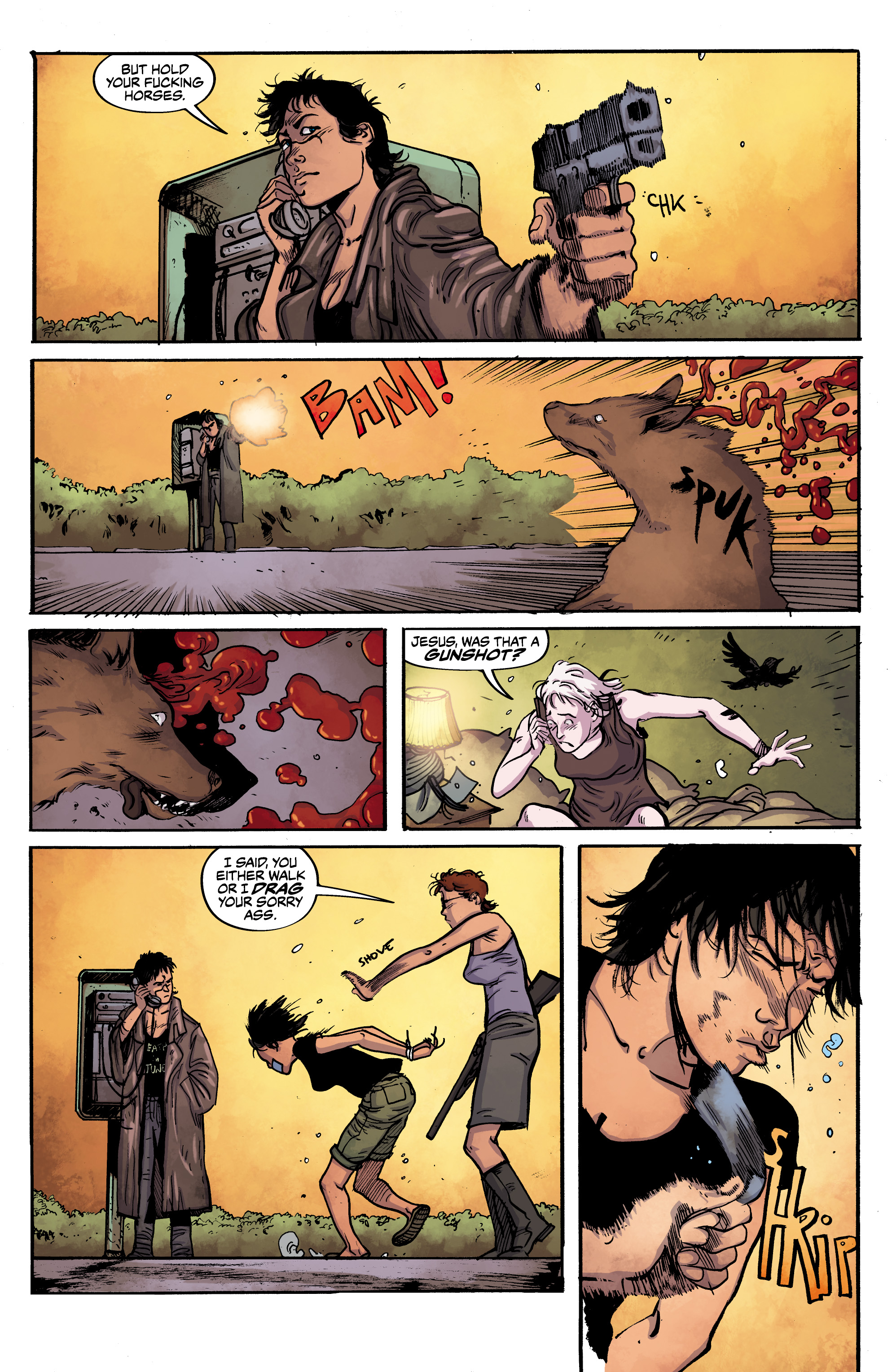 Read online Alabaster: The Good, the Bad and the Bird comic -  Issue #4 - 11
