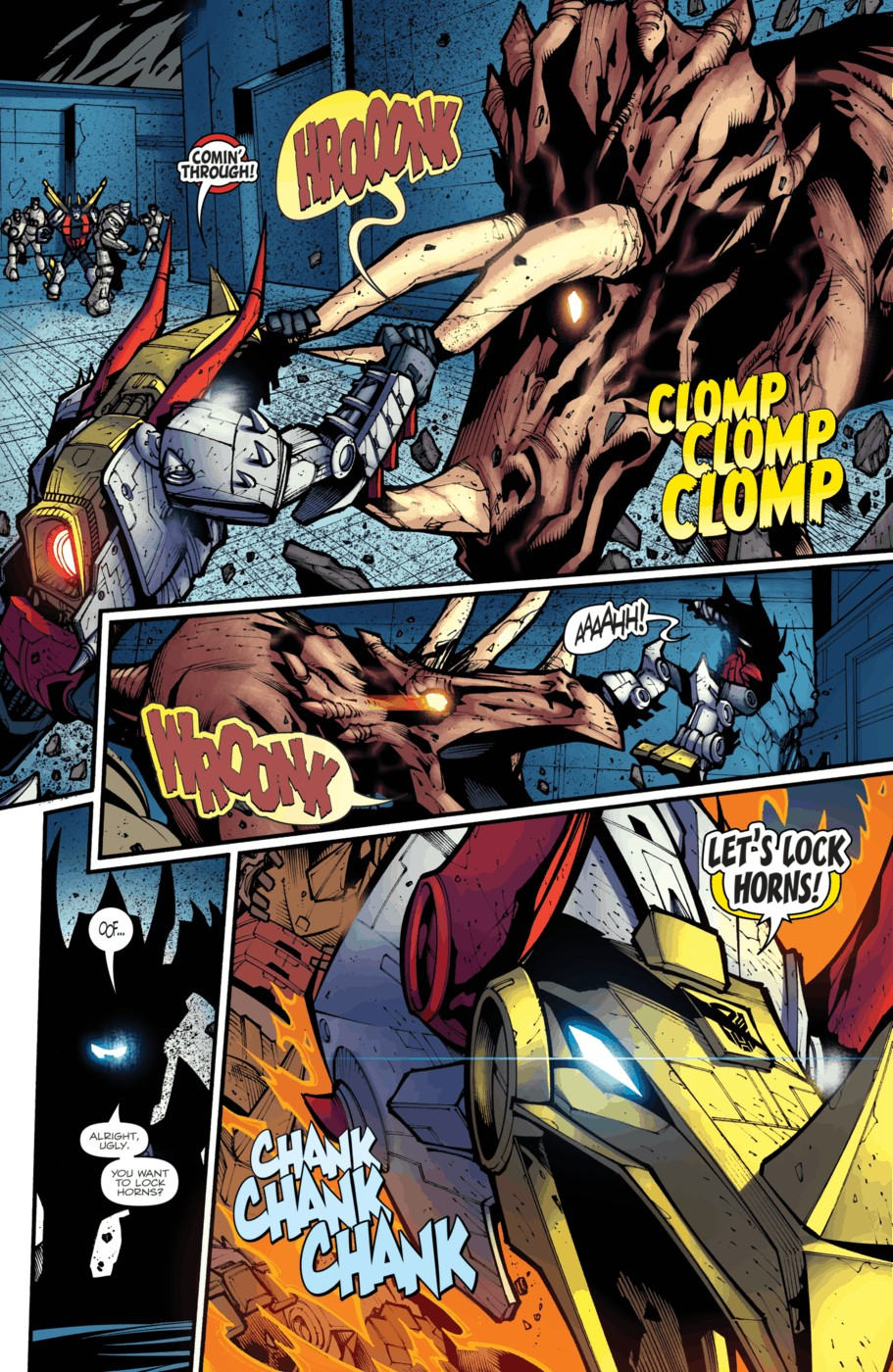 Read online Transformers Prime: Beast Hunters comic -  Issue #4 - 16