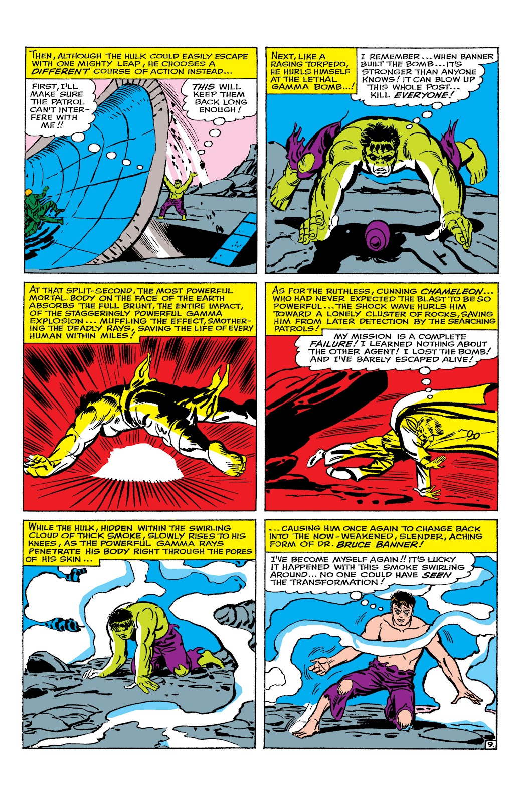 Read online Marvel Masterworks: The Incredible Hulk comic -  Issue # TPB 2 (Part 1) - 54