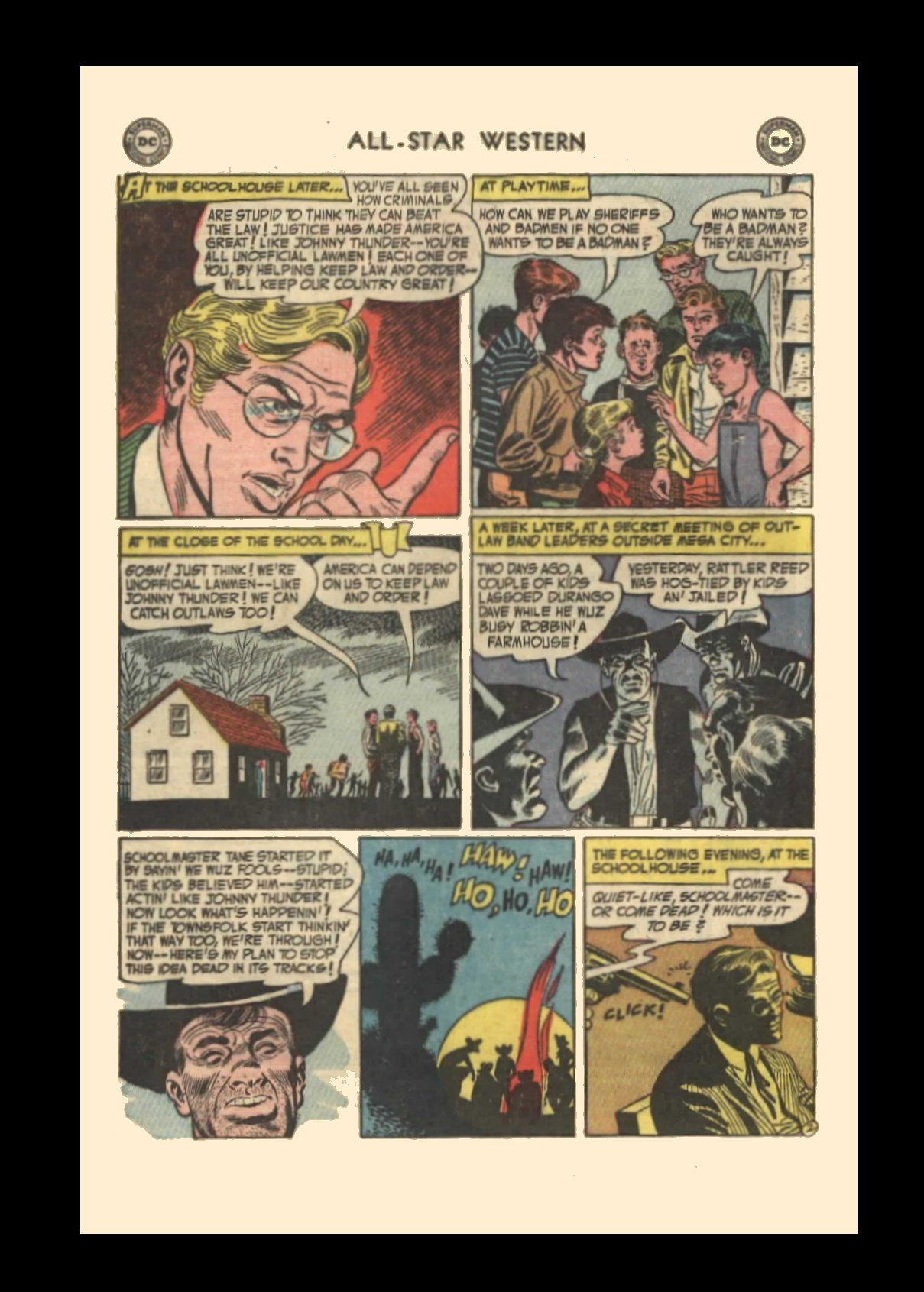 Read online All-Star Western (1951) comic -  Issue #72 - 4