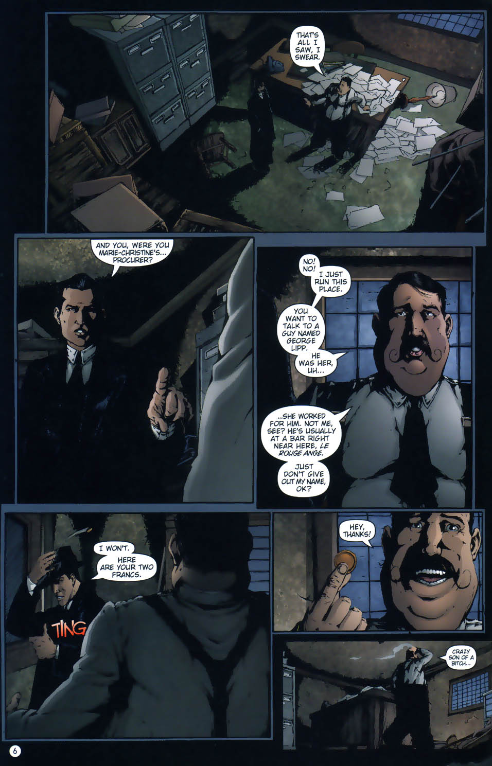 Read online Rex Mundi comic -  Issue #1 - 8