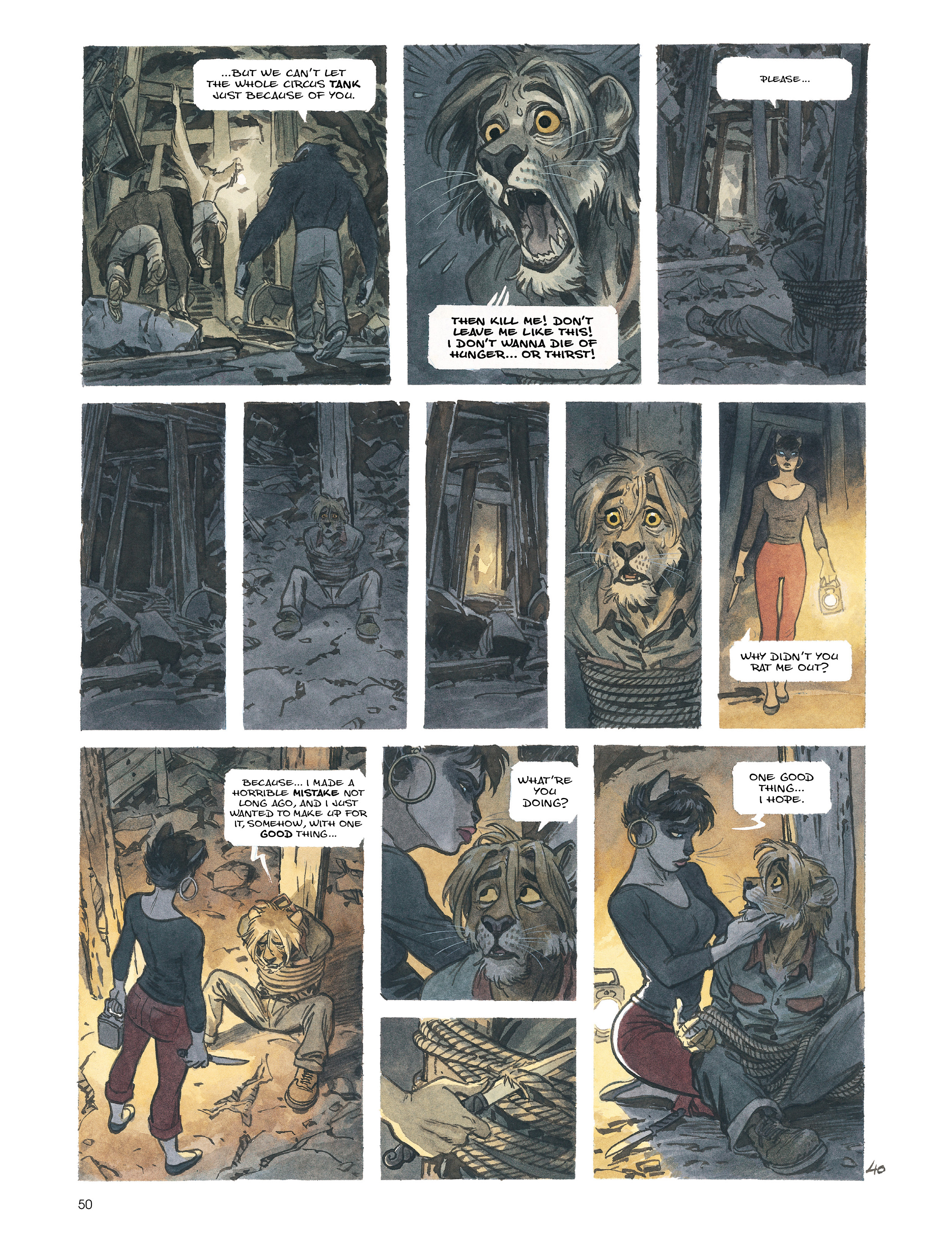 Read online Blacksad: Amarillo comic -  Issue # Full - 49
