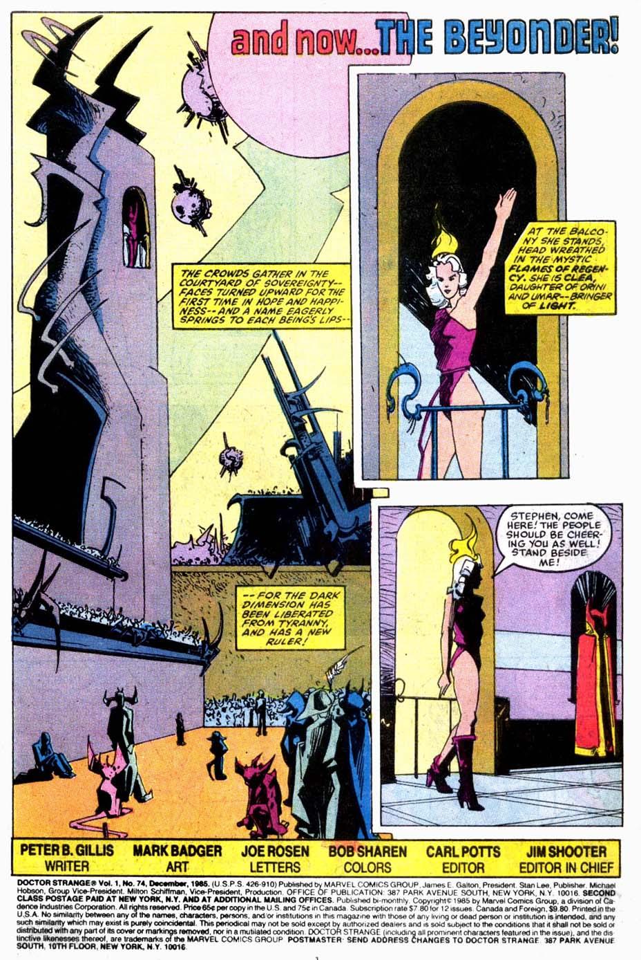 Doctor Strange (1974) 74 Page 2