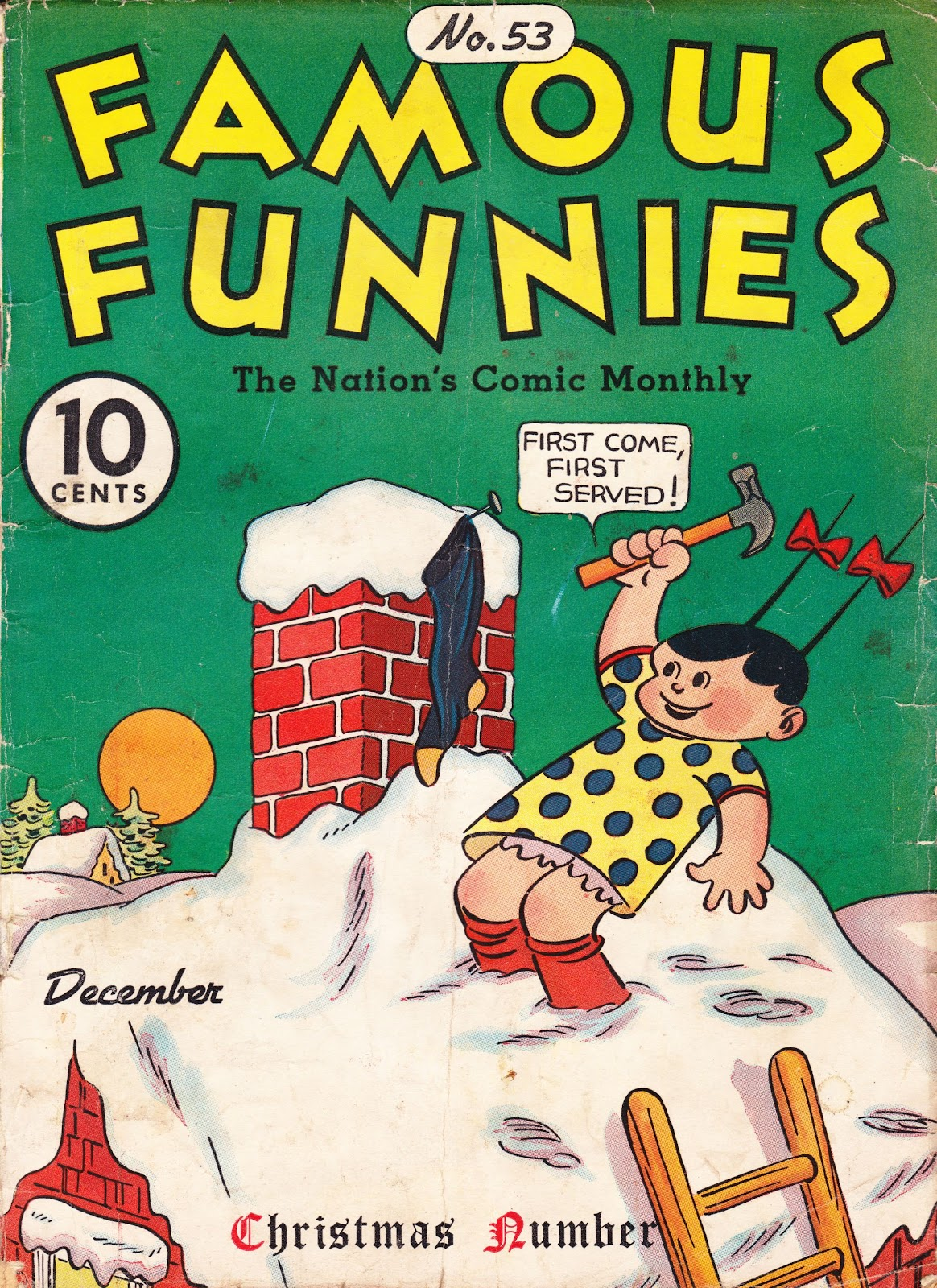 Read online Famous Funnies comic -  Issue #53 - 1