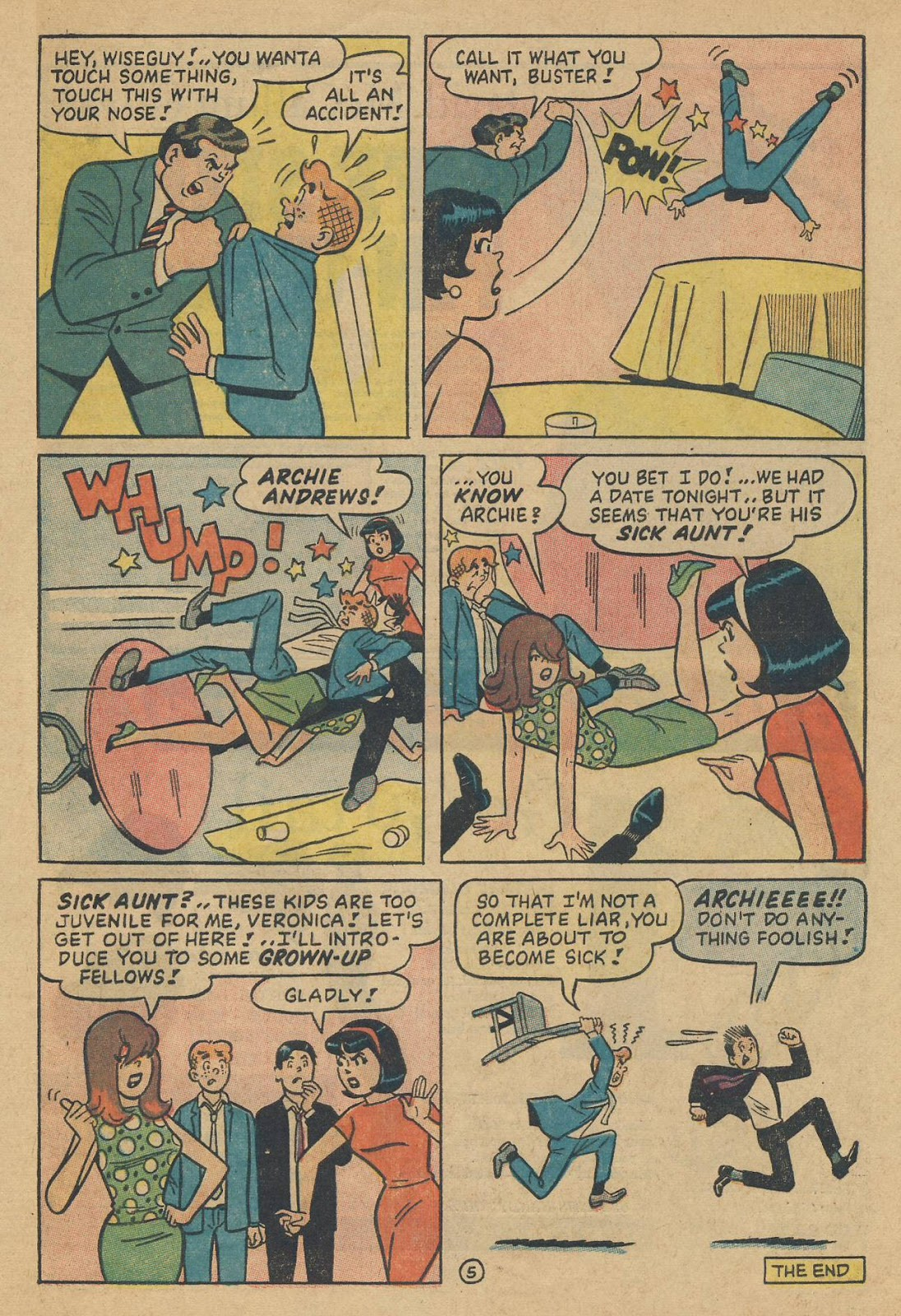 Read online Archie (1960) comic -  Issue #170 - 33