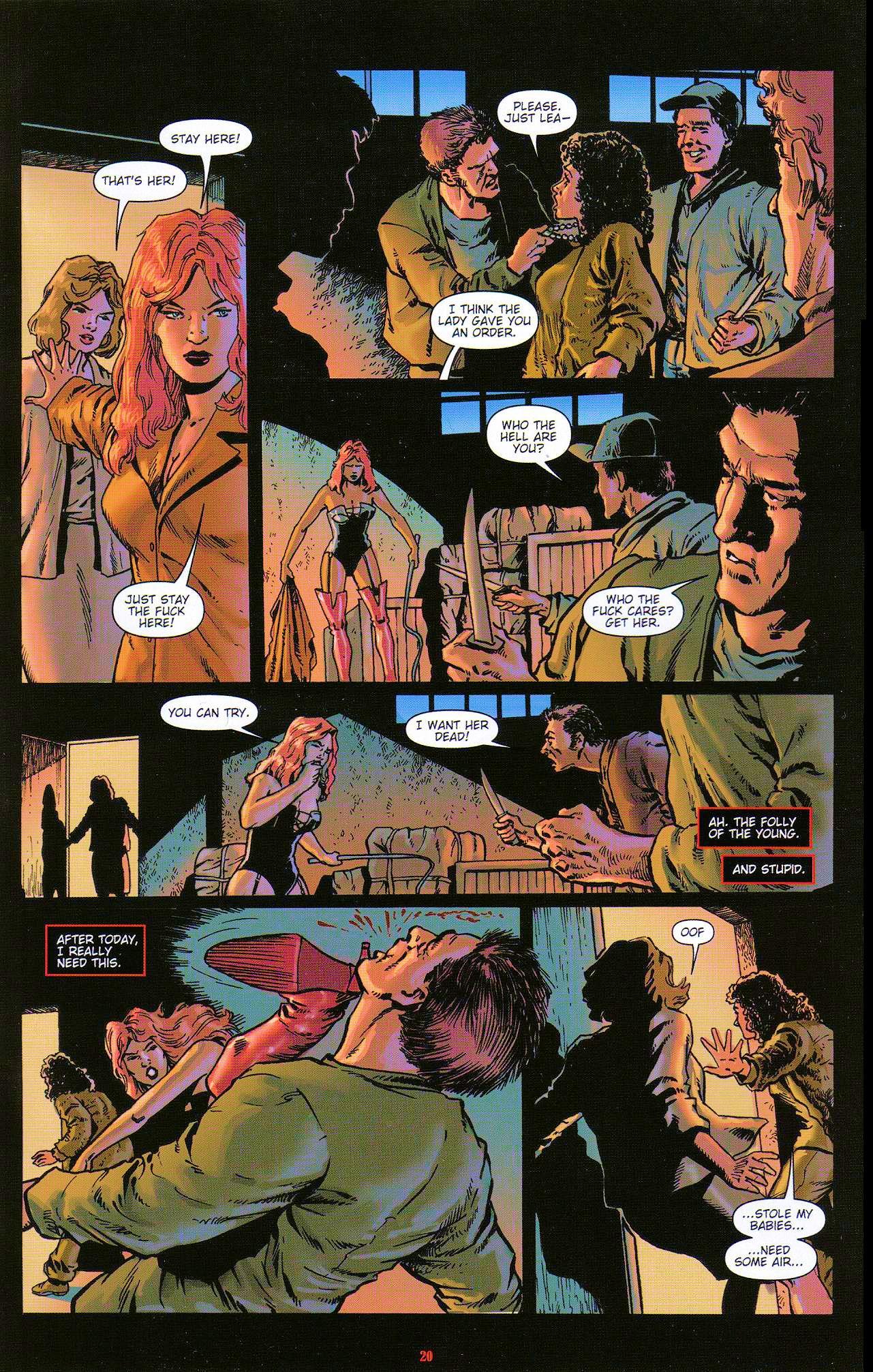 Read online Dominatrix comic -  Issue #5 - 22
