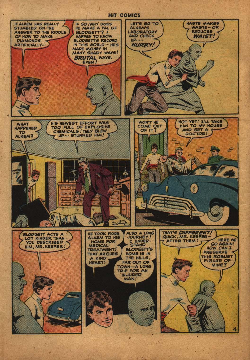 Read online Hit Comics comic -  Issue #47 - 5