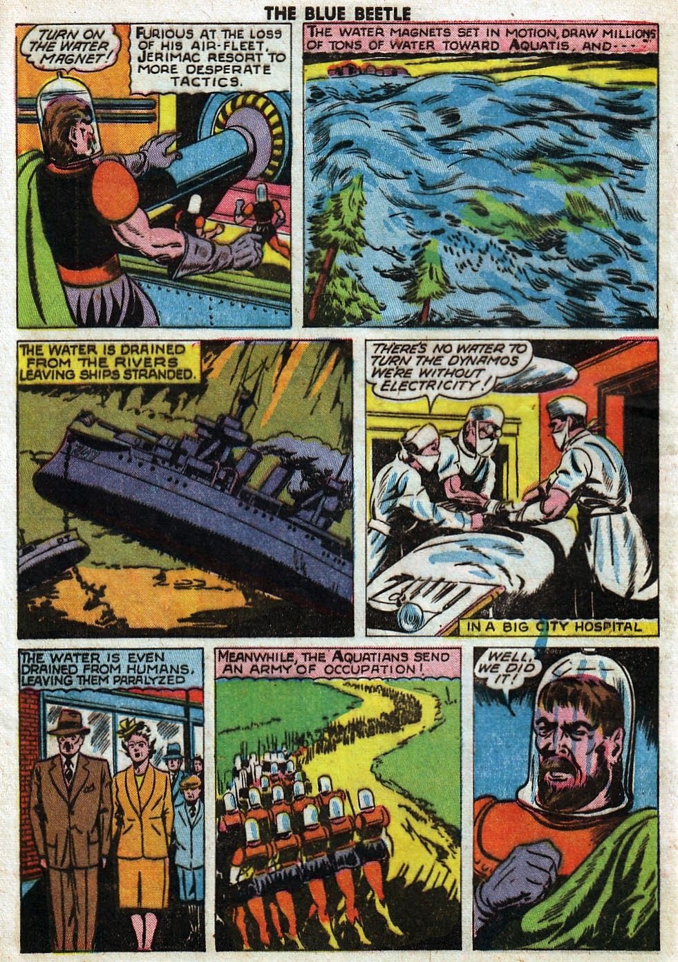 The Blue Beetle issue 33 - Page 46