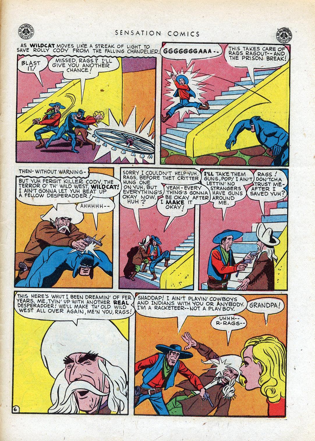 Read online Sensation (Mystery) Comics comic -  Issue #41 - 47
