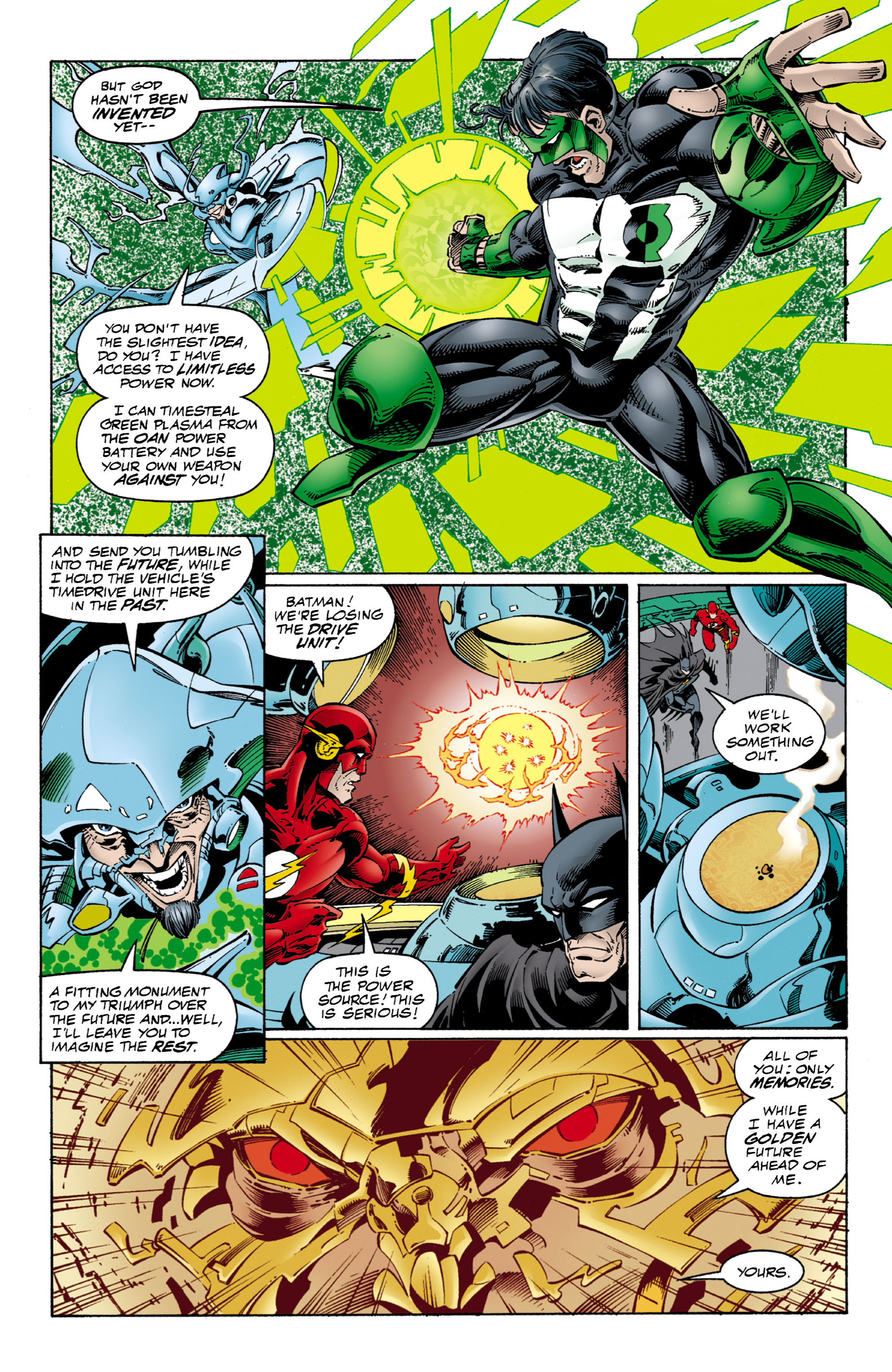 Read online JLA/WildC.A.T.s comic -  Issue # Full - 11