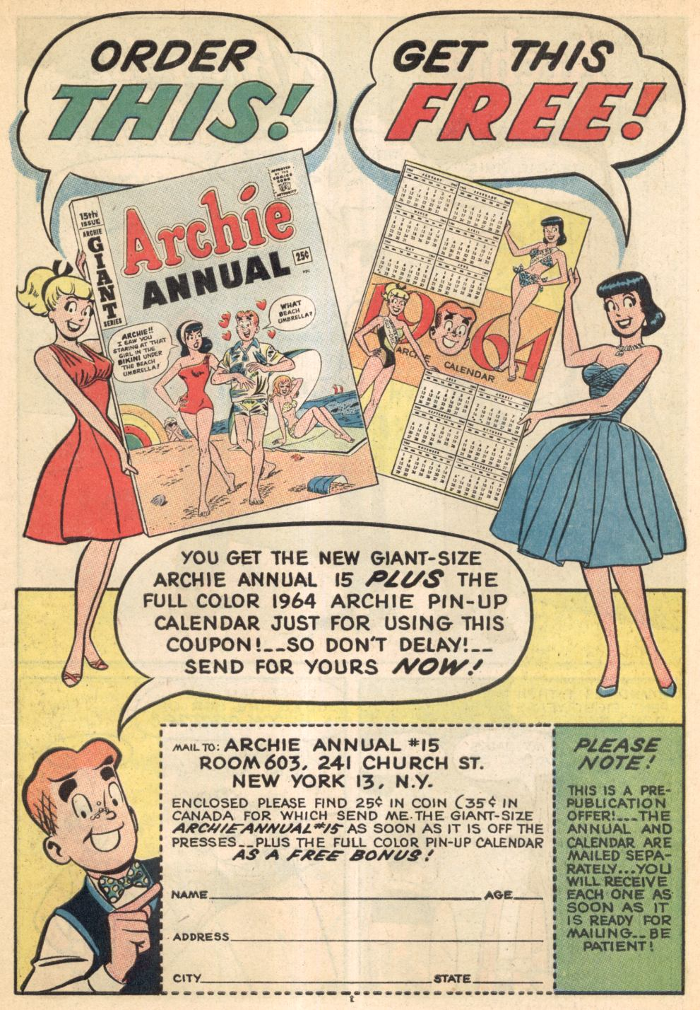 Read online Archie (1960) comic -  Issue #137 - 20