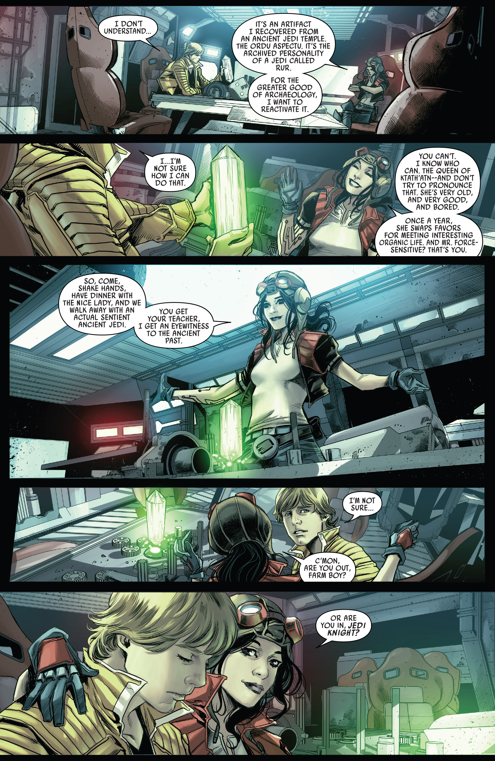 Read online Star Wars: The Screaming Citadel comic -  Issue # Full - 12
