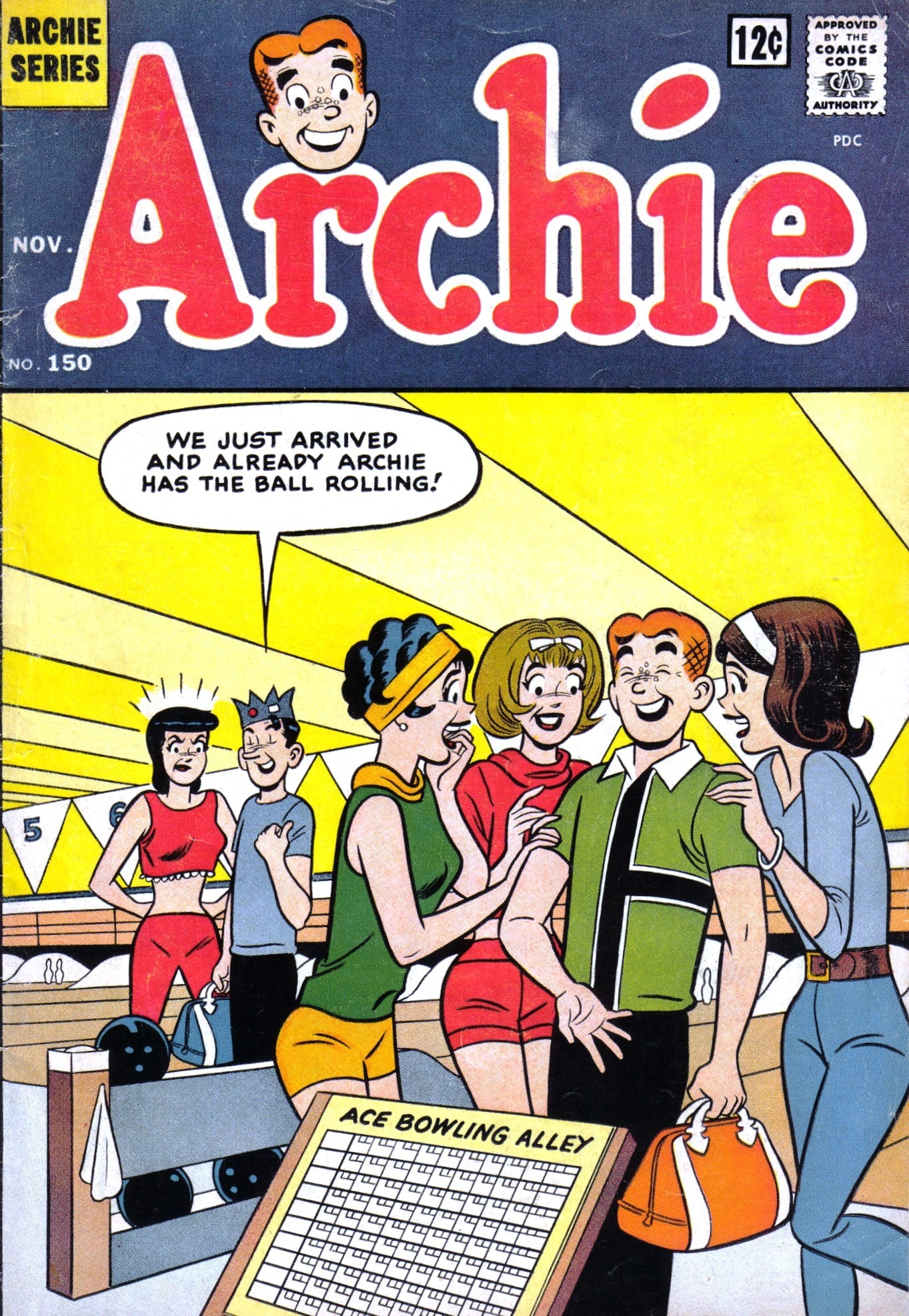 Read online Archie (1960) comic -  Issue #150 - 1