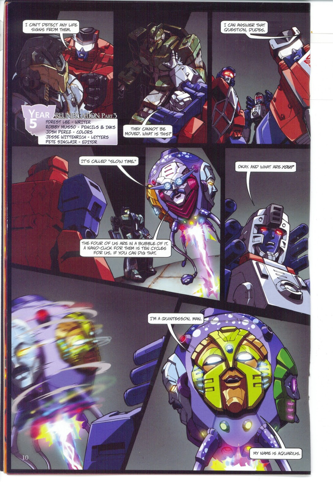 Read online Transformers: Collectors' Club comic -  Issue #27 - 10