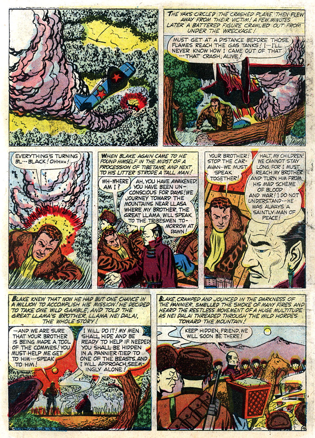 Kent Blake of the Secret Service issue 3 - Page 6