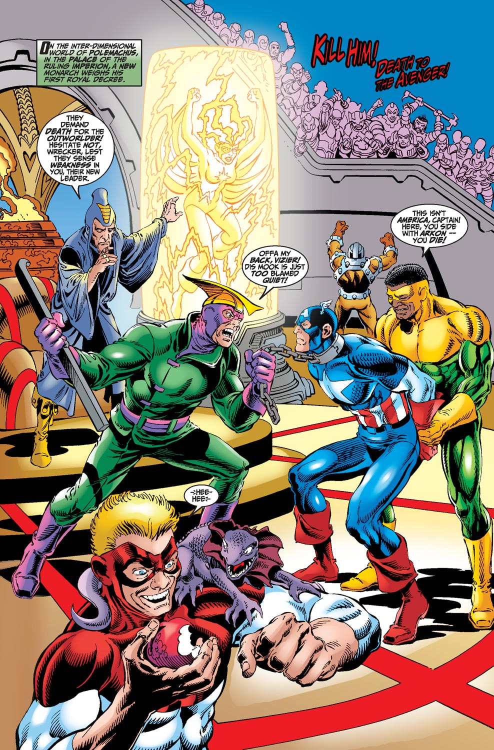 Read online Avengers (1998) comic -  Issue #18 - 2