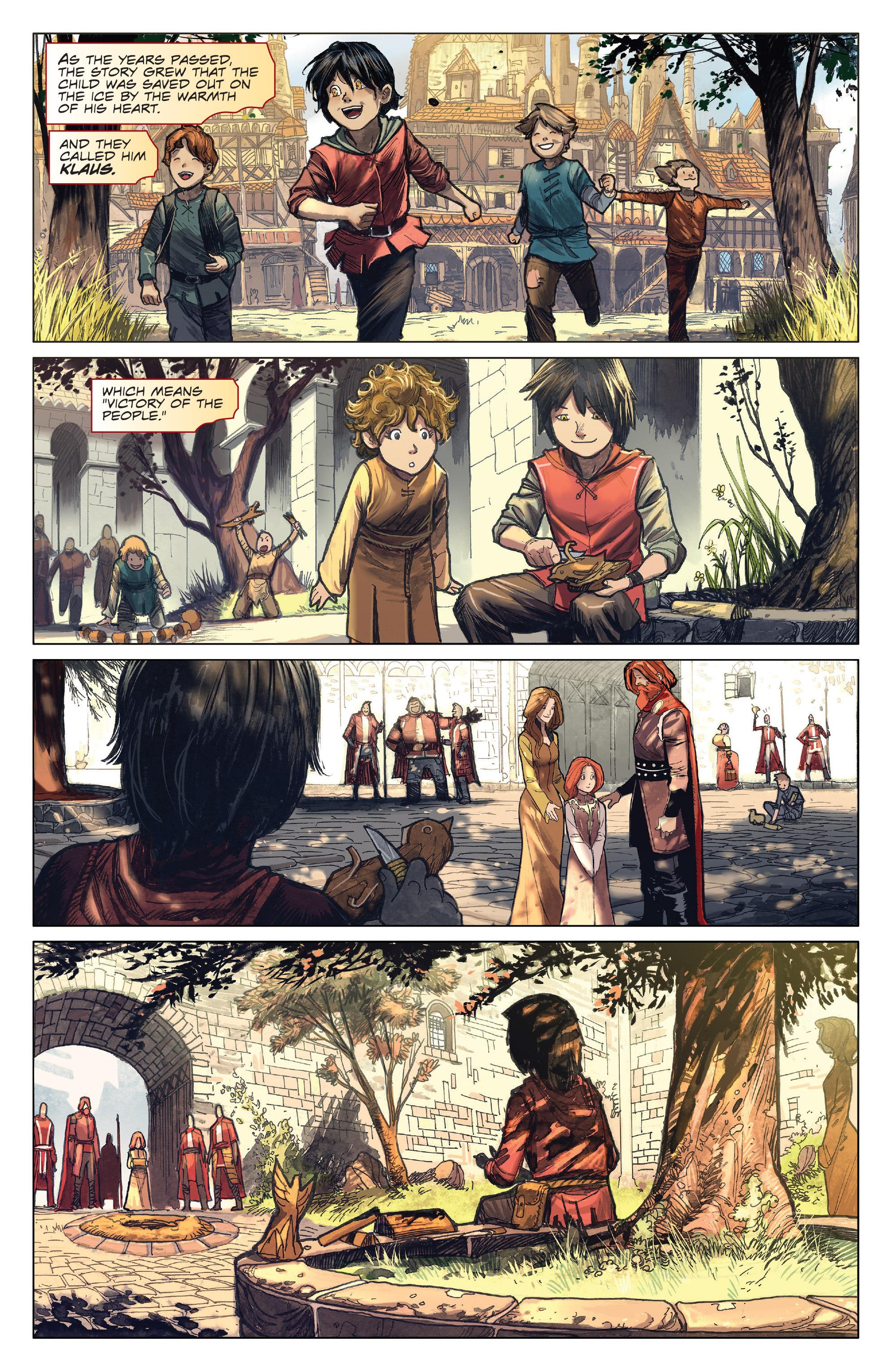 Read online Klaus comic -  Issue #4 - 5