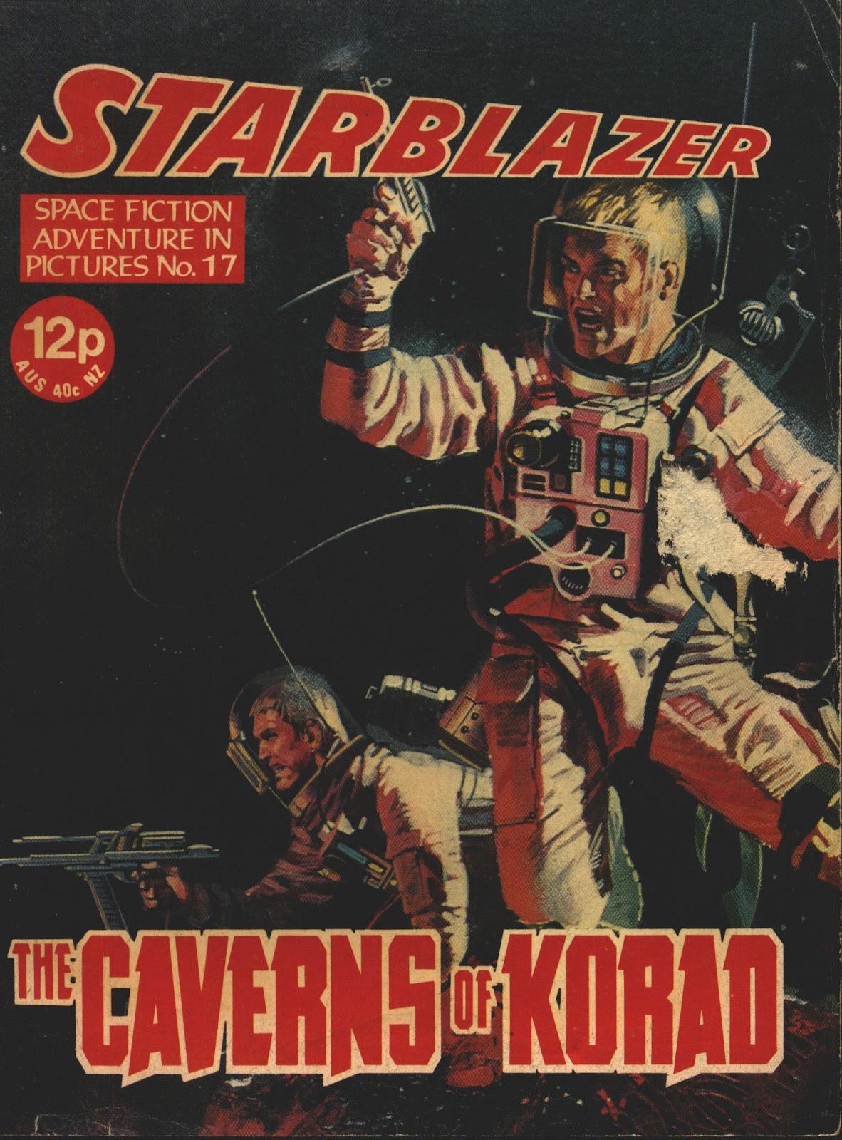 Starblazer issue 17 - Page 1